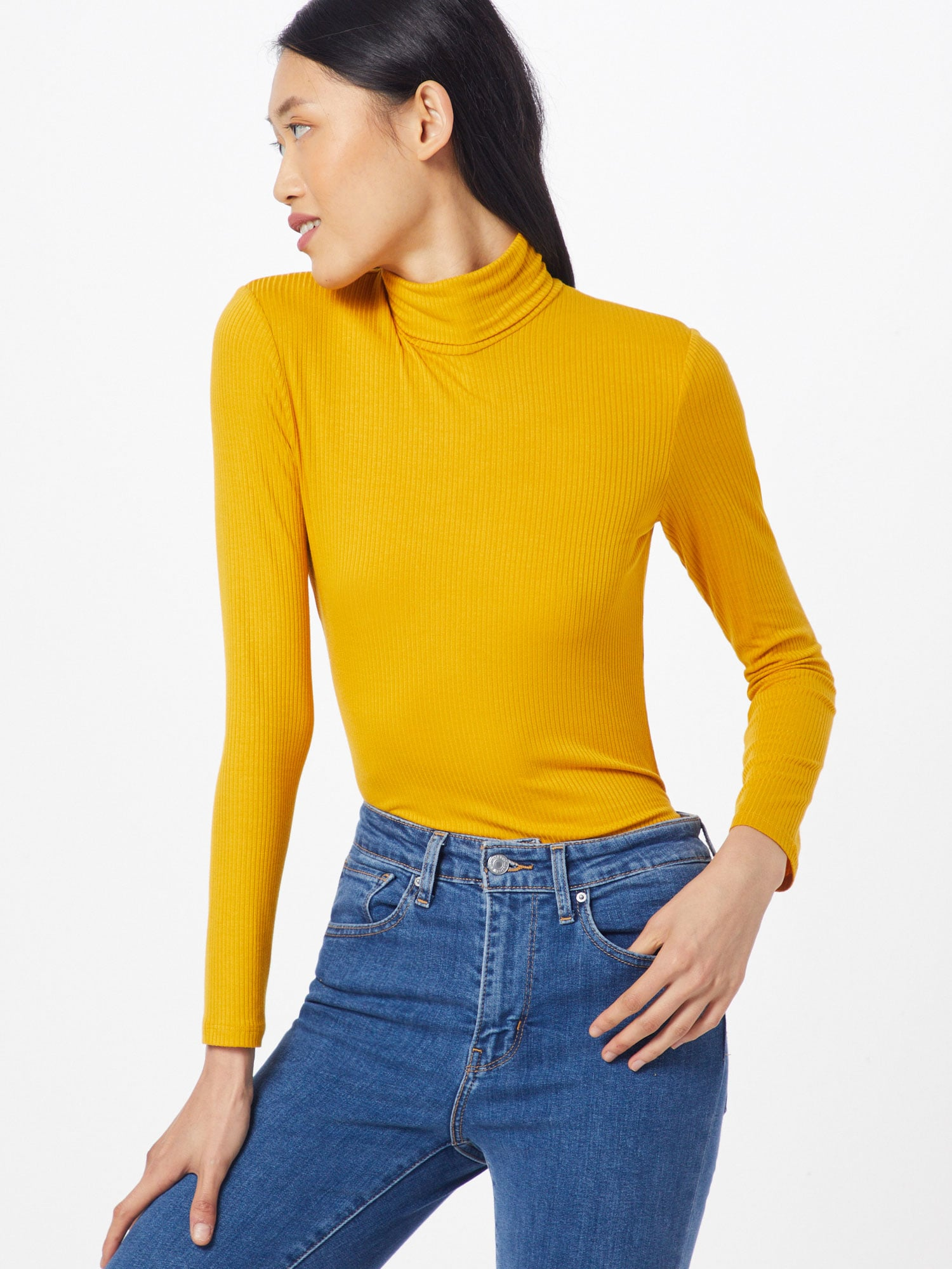 united colors of benetton - Shirt 'TURTLE NECK SW. L/S'