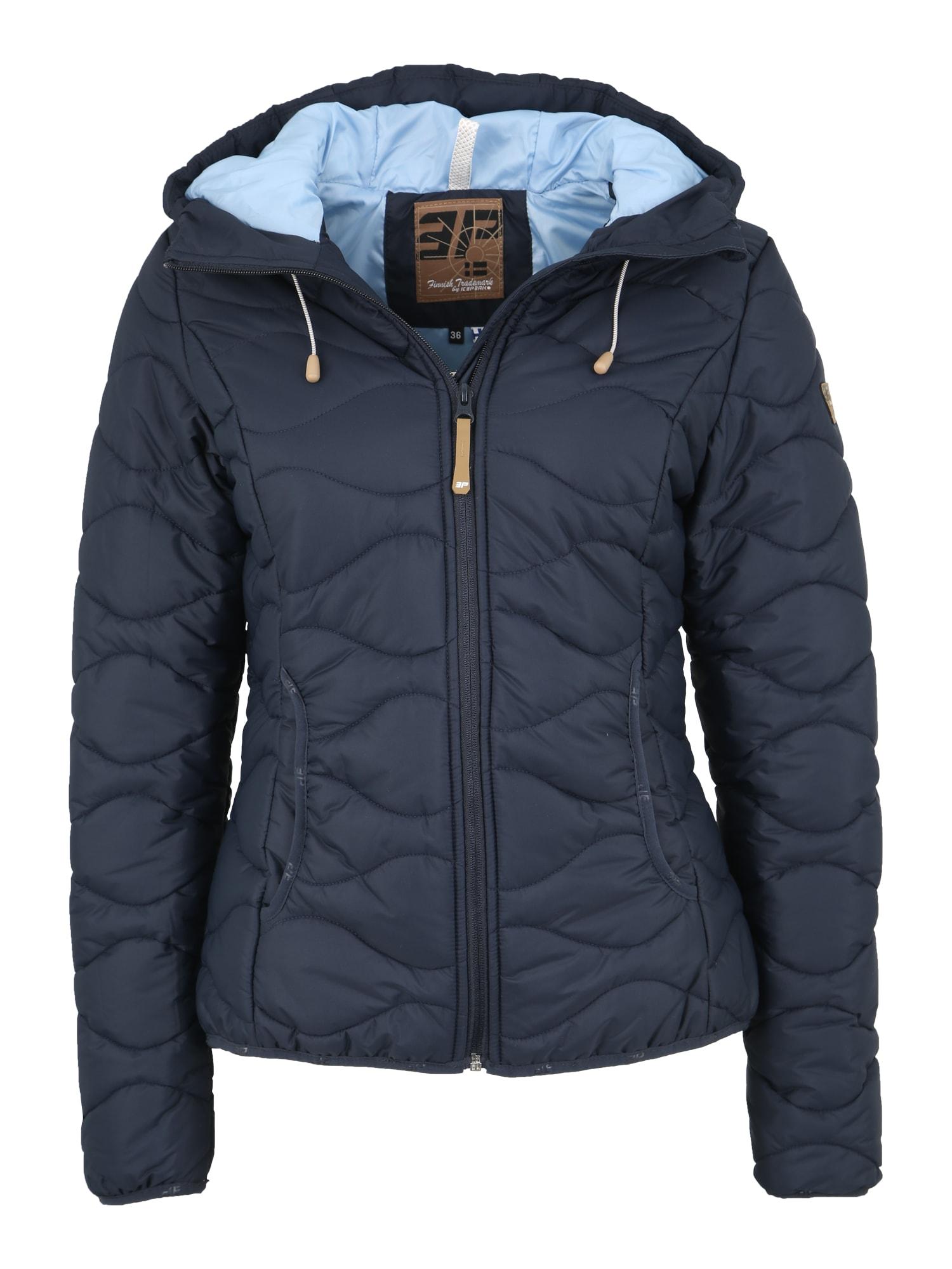 Outdoorová bunda TAIKA tmavě modrá ICEPEAK