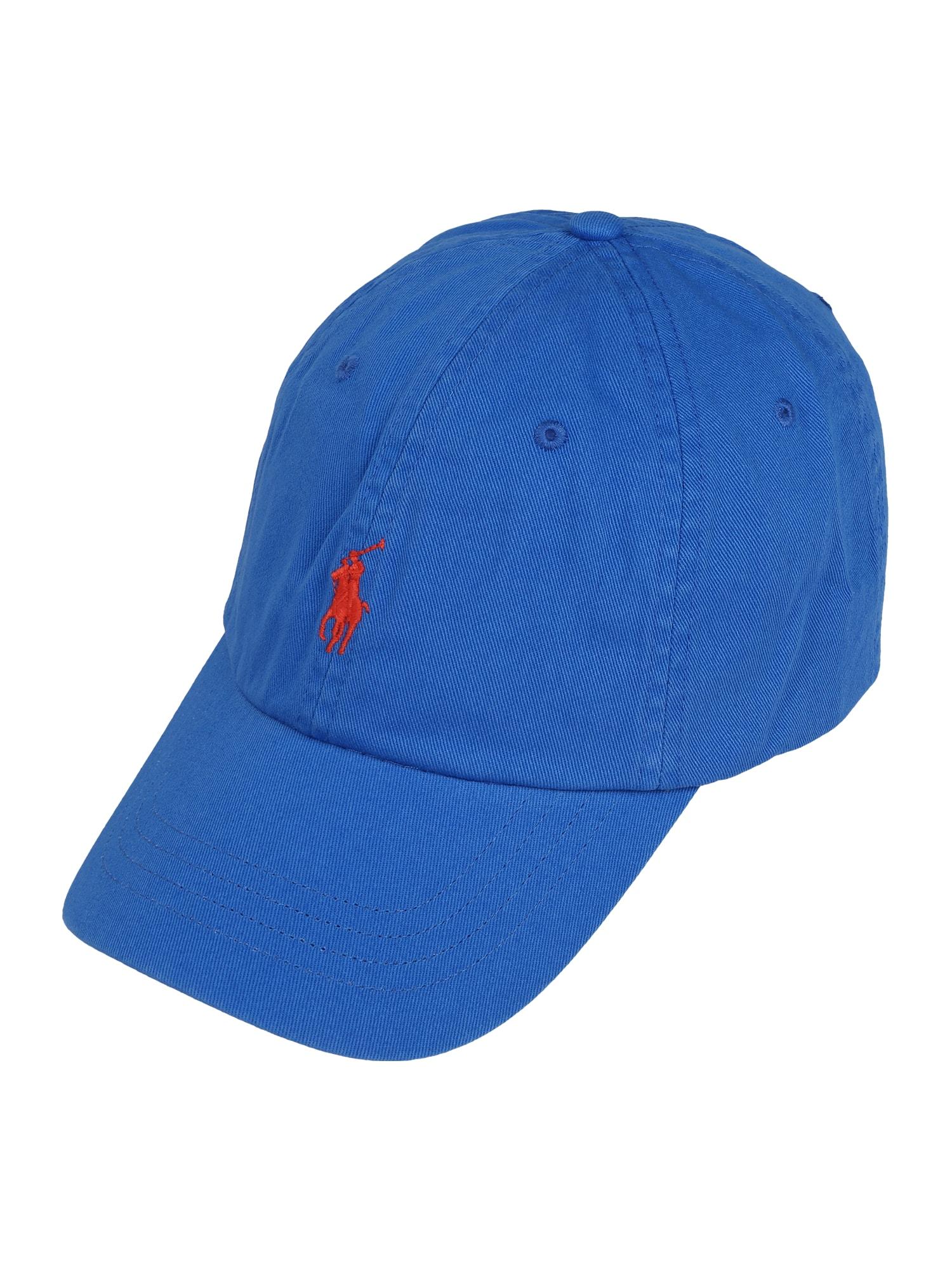 POLO RALPH LAUREN Kepurė mėlyna / raudona