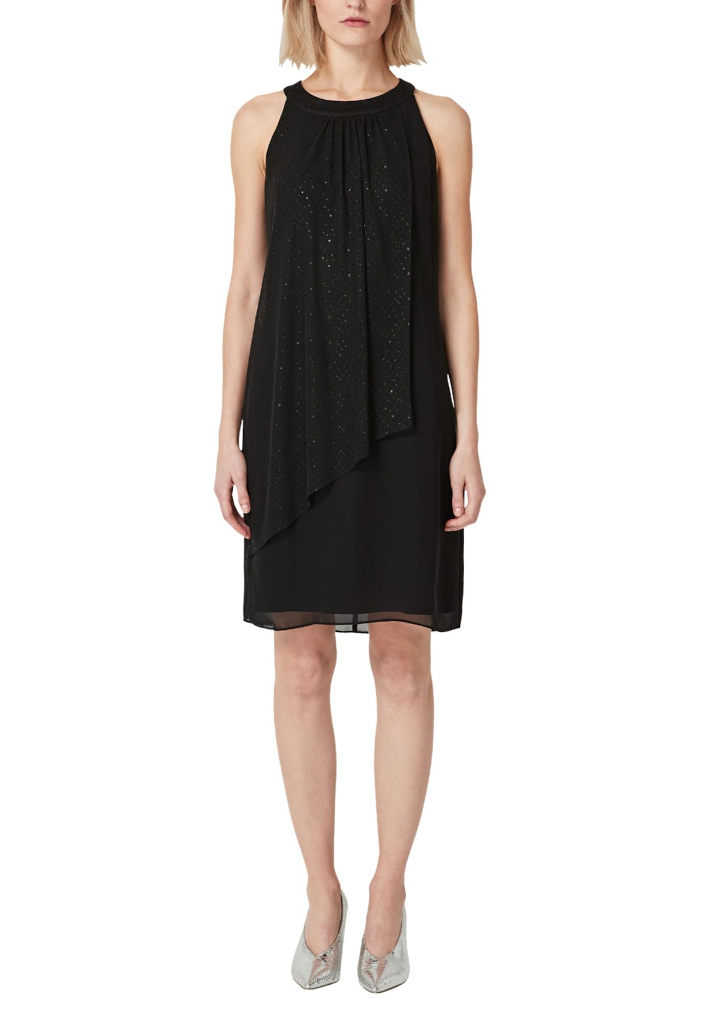 S.Oliver BLACK LABEL Kleid schwarz - Schwarzes Kleid