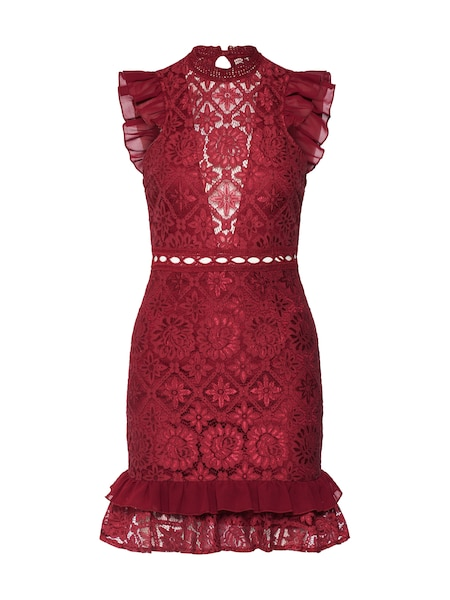 Festtagsmode - Kleid 'Royal Gala Dress' › Love Triangle › bordeaux  - Onlineshop ABOUT YOU