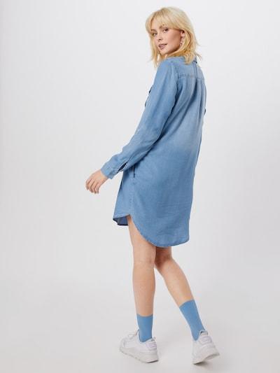 Vero Moda Silla Langärmliges Jeanskleid in Hellblau
