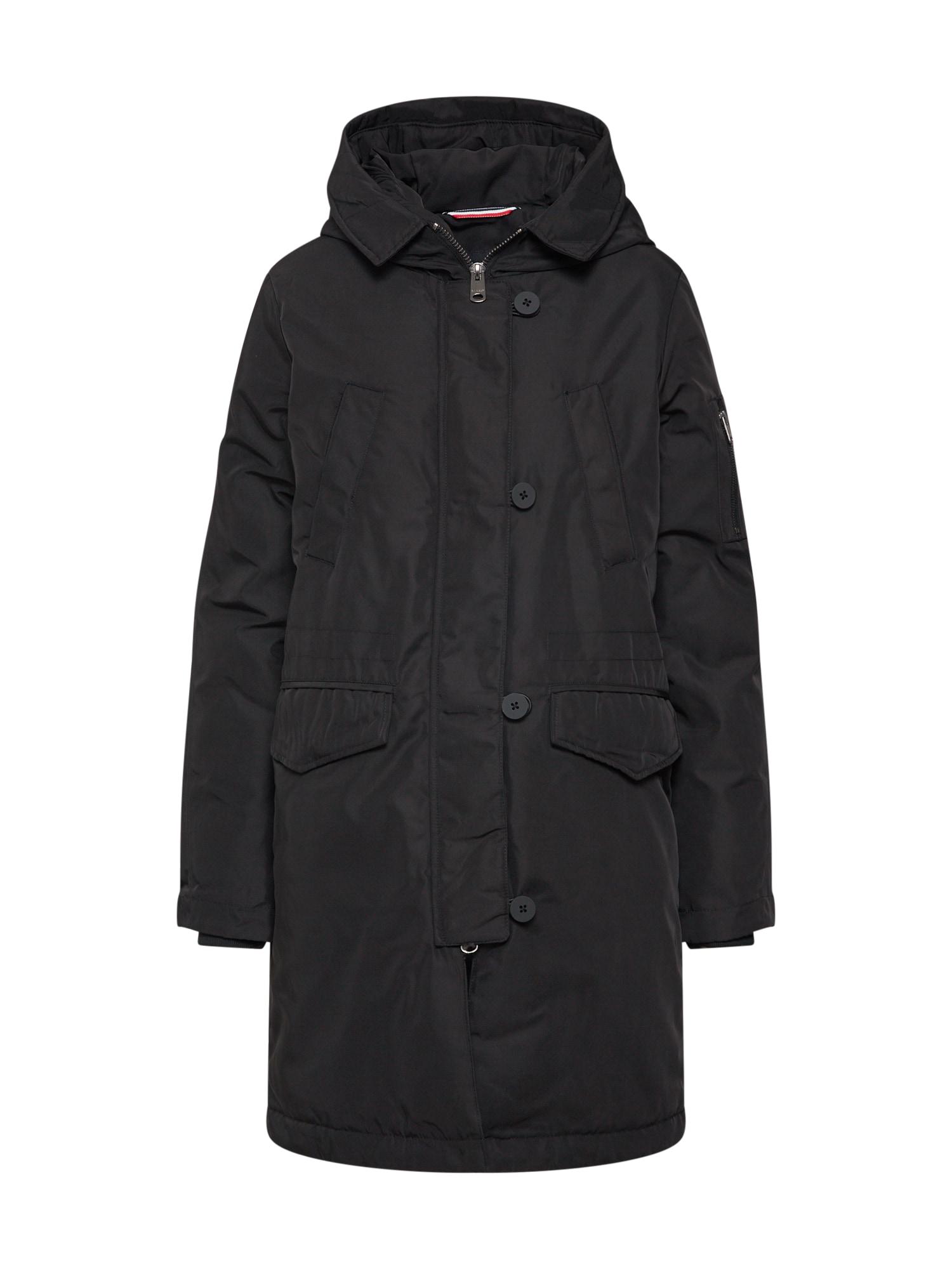 Zimní bunda černá ECOALF