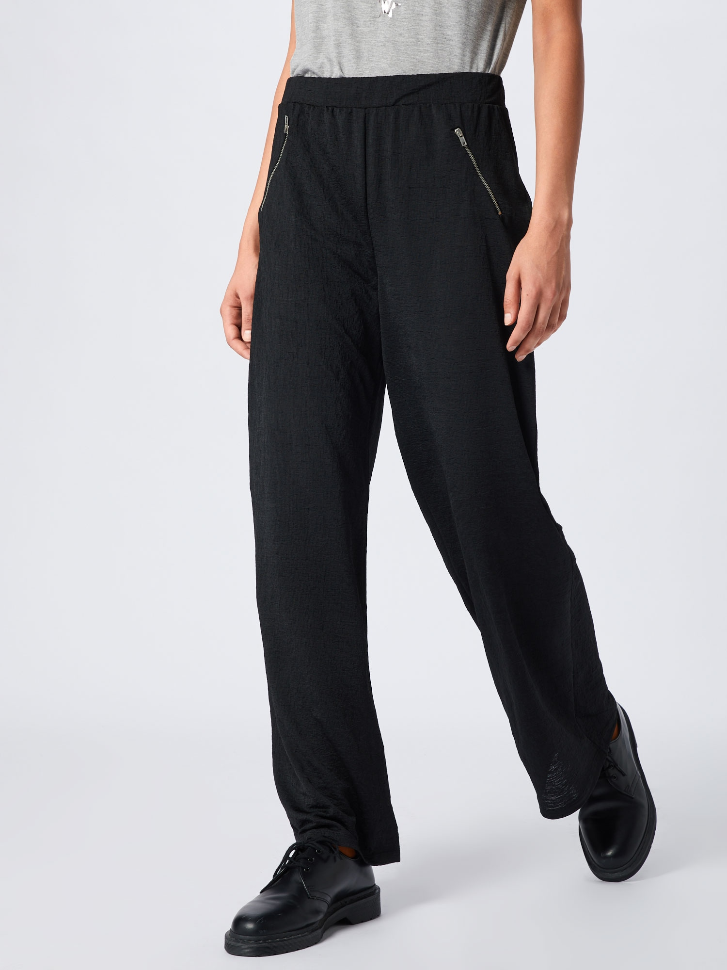 ABOUT YOU Byxa 'Maxie Trousers'  svart