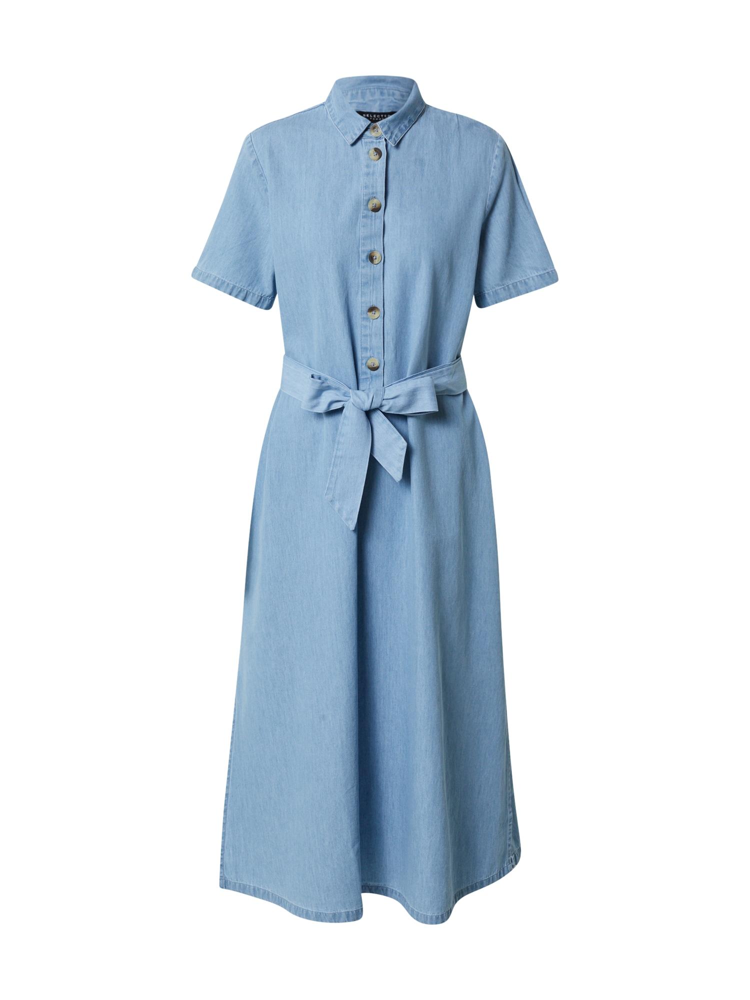 SELECTED FEMME Palaidinės tipo suknelė 'Tess' šviesiai mėlyna