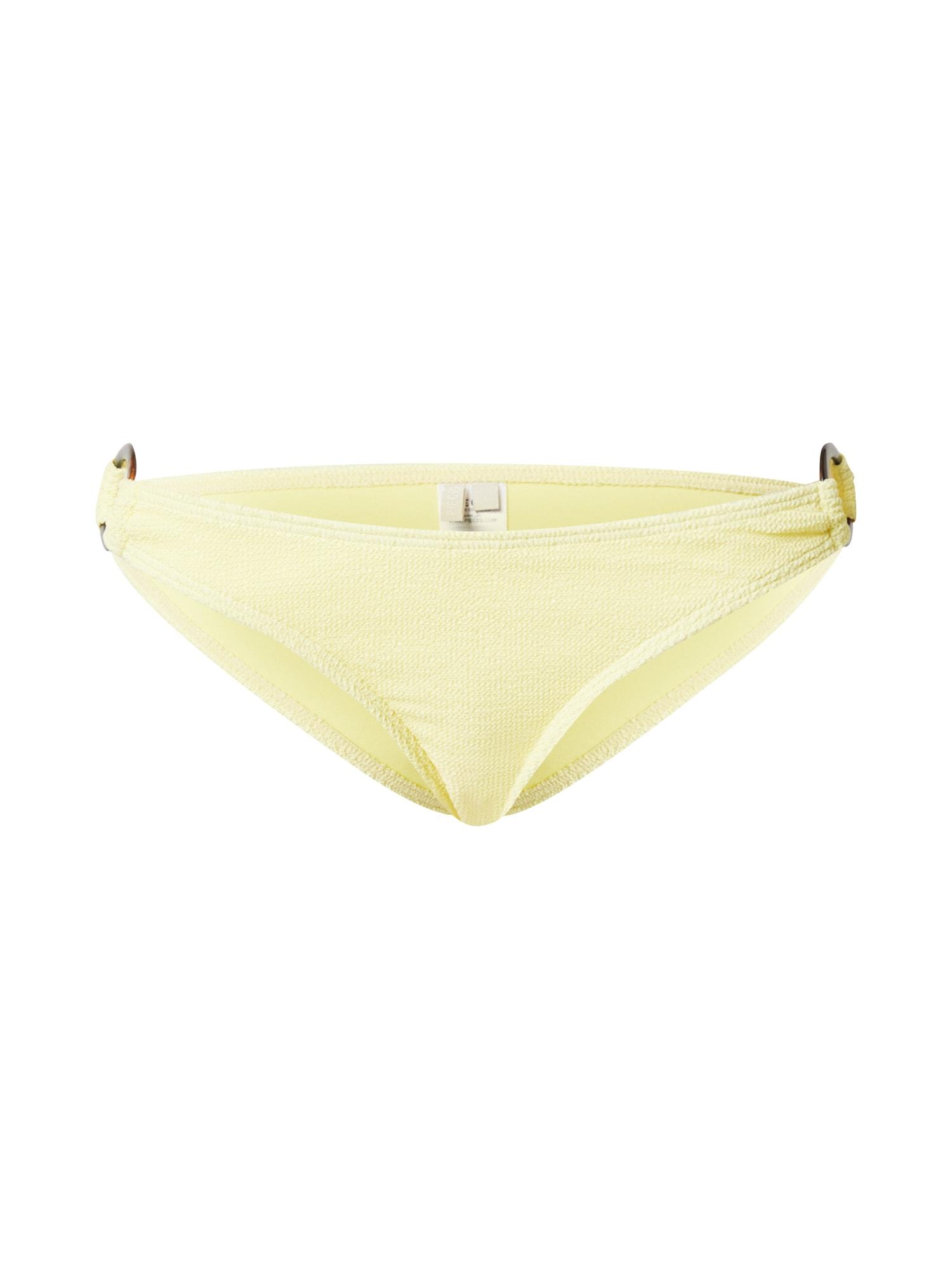 PIECES Bikinové nohavičky 'PCNORA'  žlté
