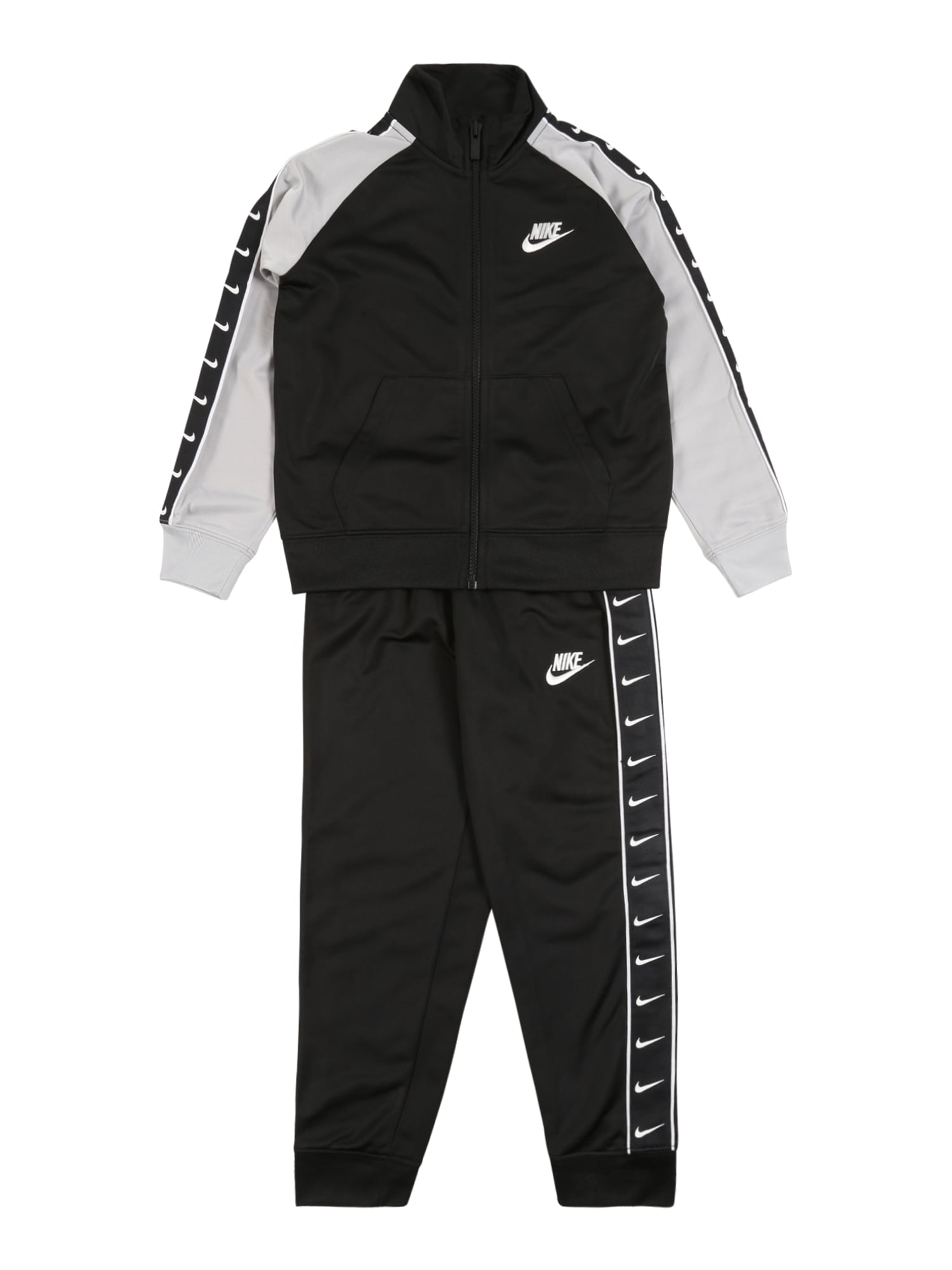 Nike Sportswear Kostiumas 'SWOOSH' juoda