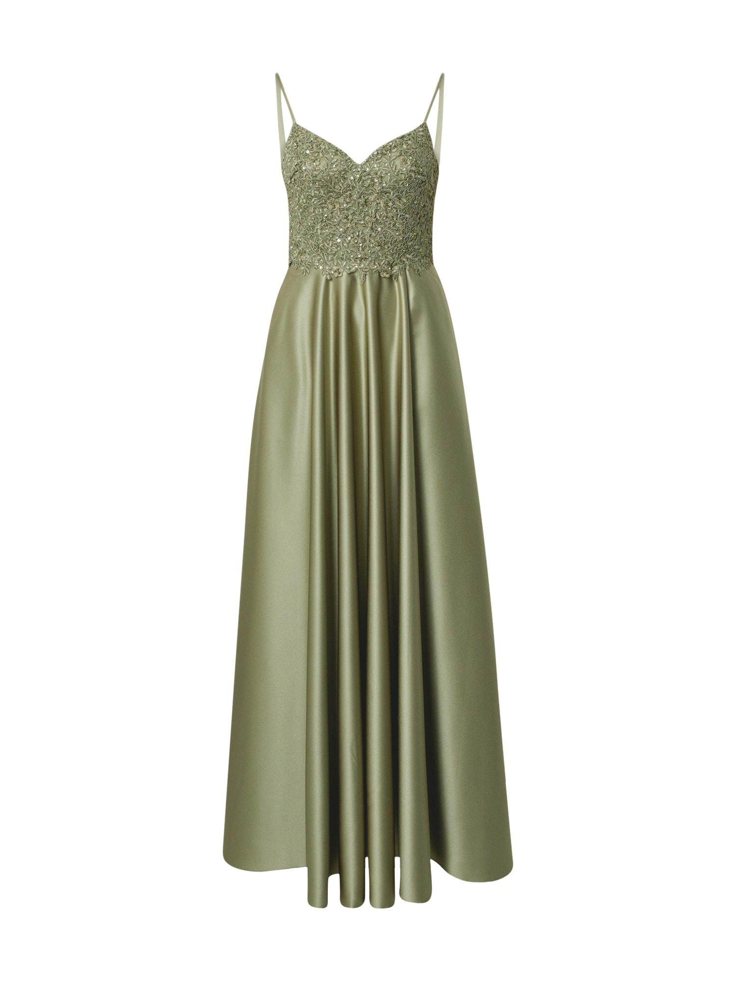 Unique Vakarinė suknelė žalia