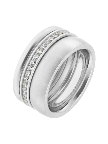Ringe für Frauen - C Collection Ring silber  - Onlineshop ABOUT YOU