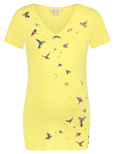 Schwangerschaftsmode - T shirt › Esprit Maternity › gelb mischfarben  - Onlineshop ABOUT YOU