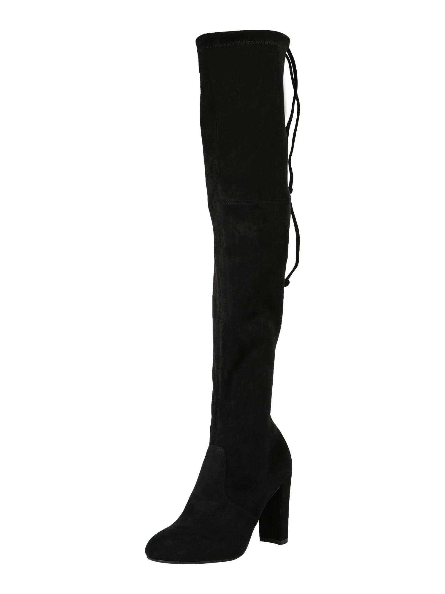 ABOUT YOU Ilgaauliai batai virš kelių juoda
