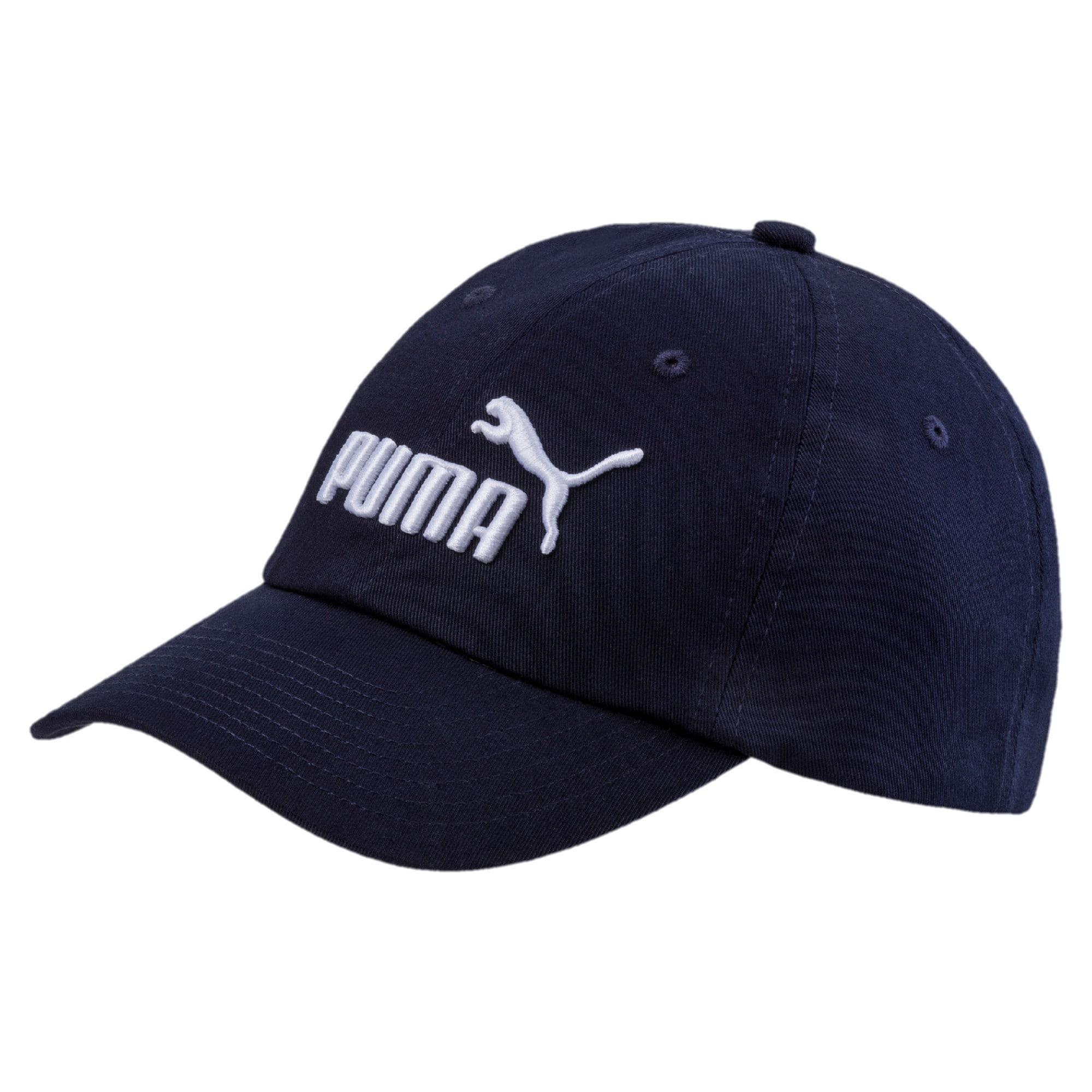 PUMA Sportinė kepurė 'Essentials' nakties mėlyna