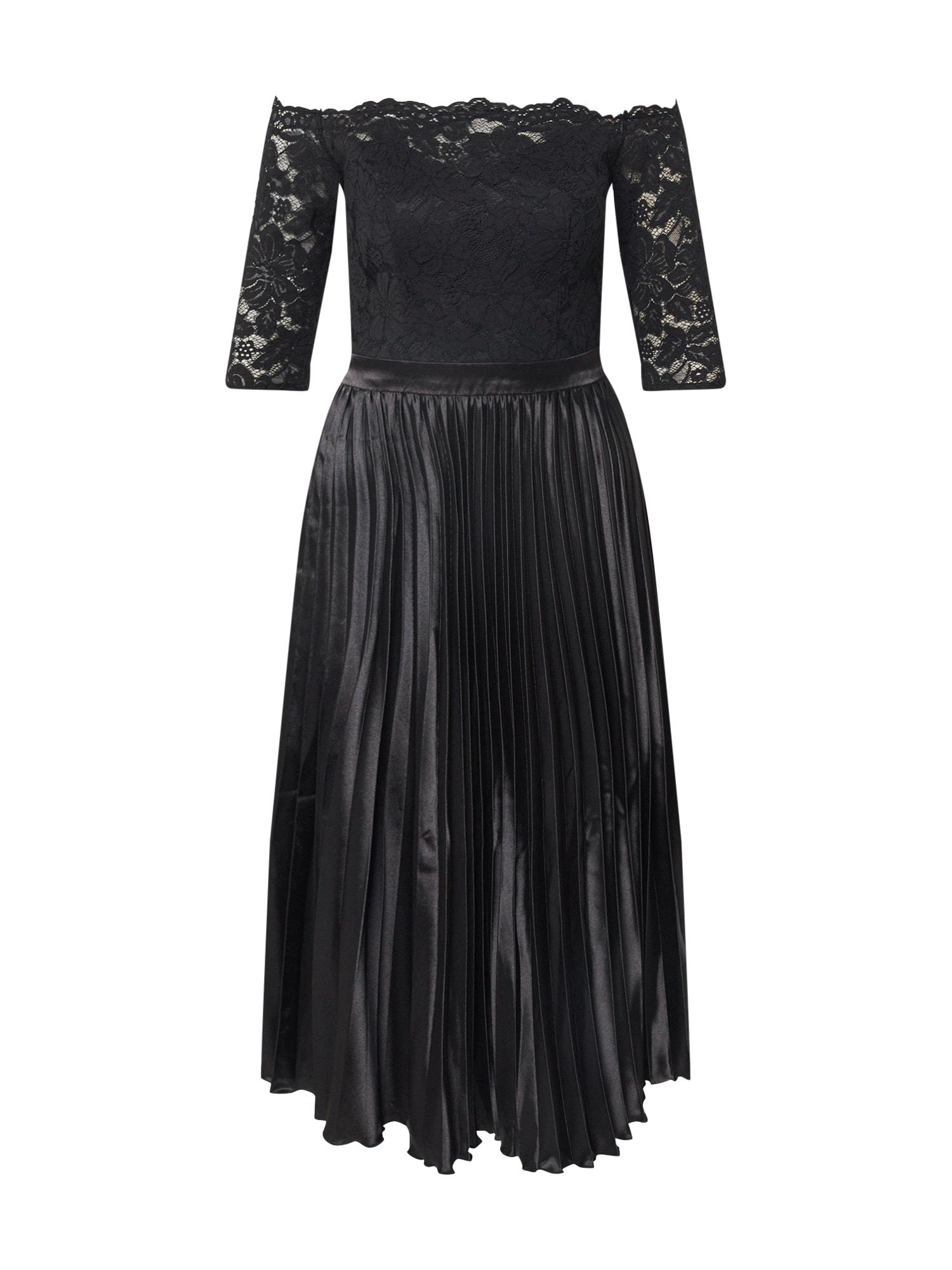 Chi Chi London Kokteilinė suknelė 'Anna-Marie' juoda