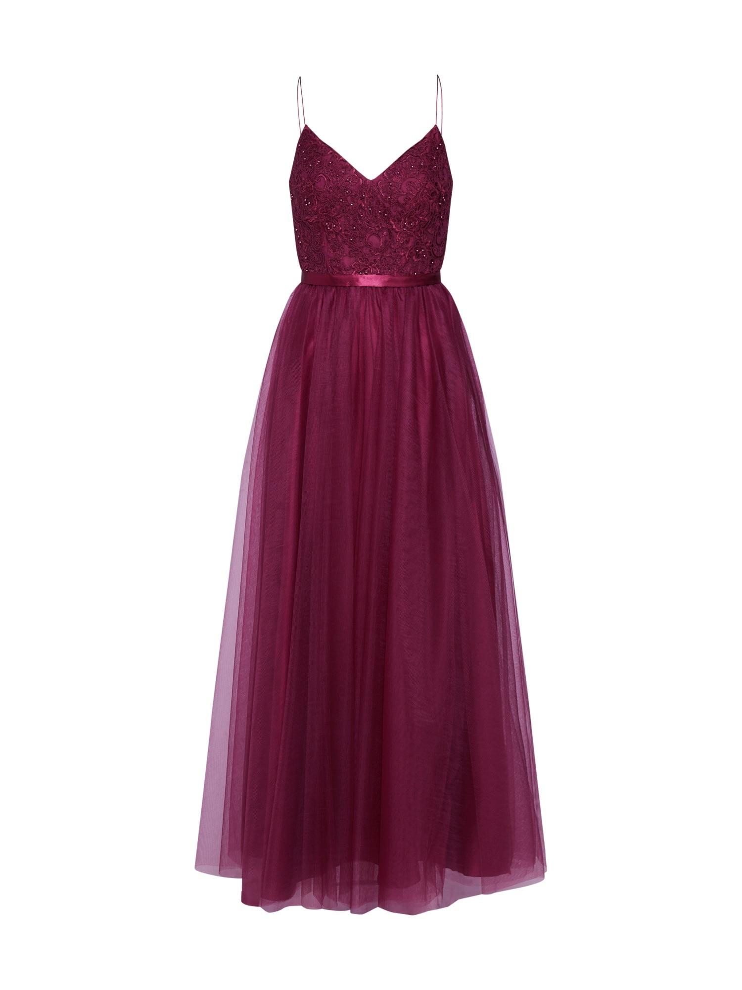 Laona Vakarinė suknelė vyšninė spalva