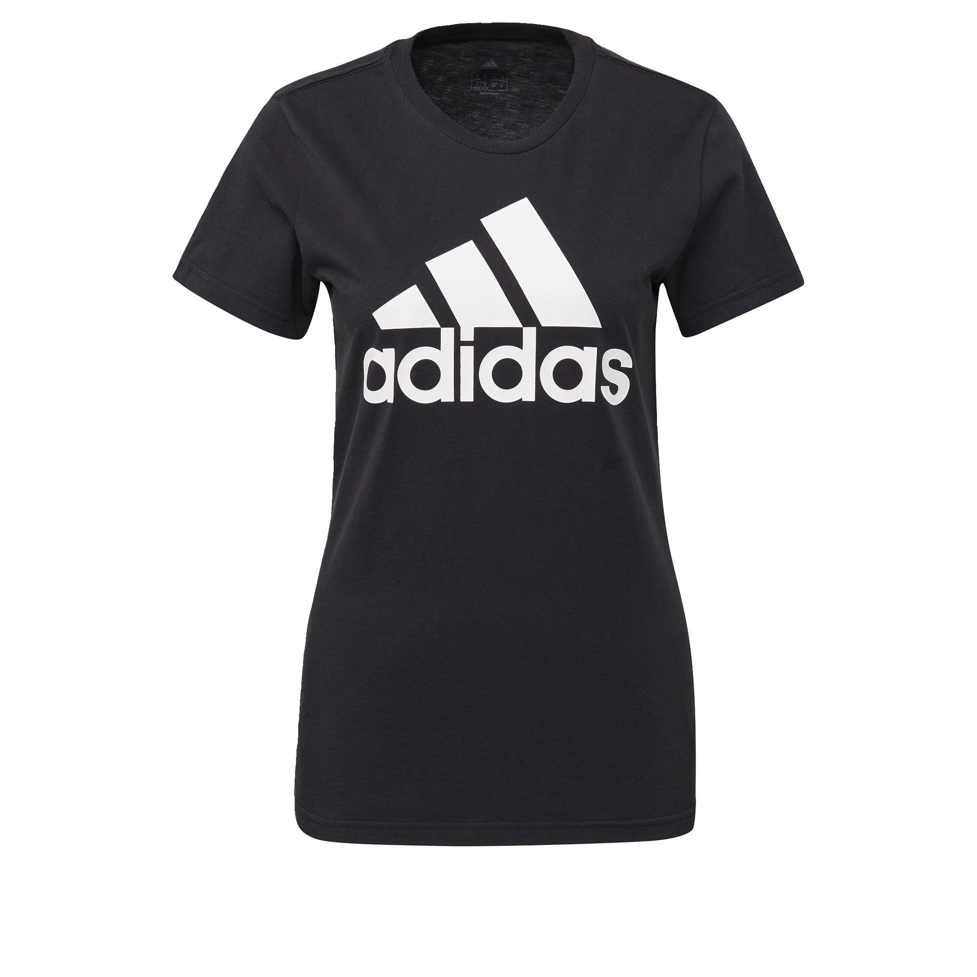ADIDAS PERFORMANCE Sportiniai marškinėliai 'W BOS CO TEE' balta / juoda