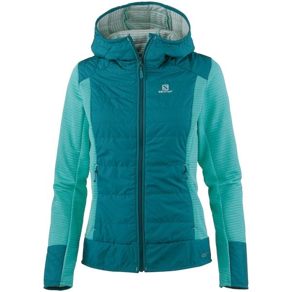 Jacken für Frauen - Funktionsjacke 'RIGHT' › SALOMON › smaragd mint  - Onlineshop ABOUT YOU