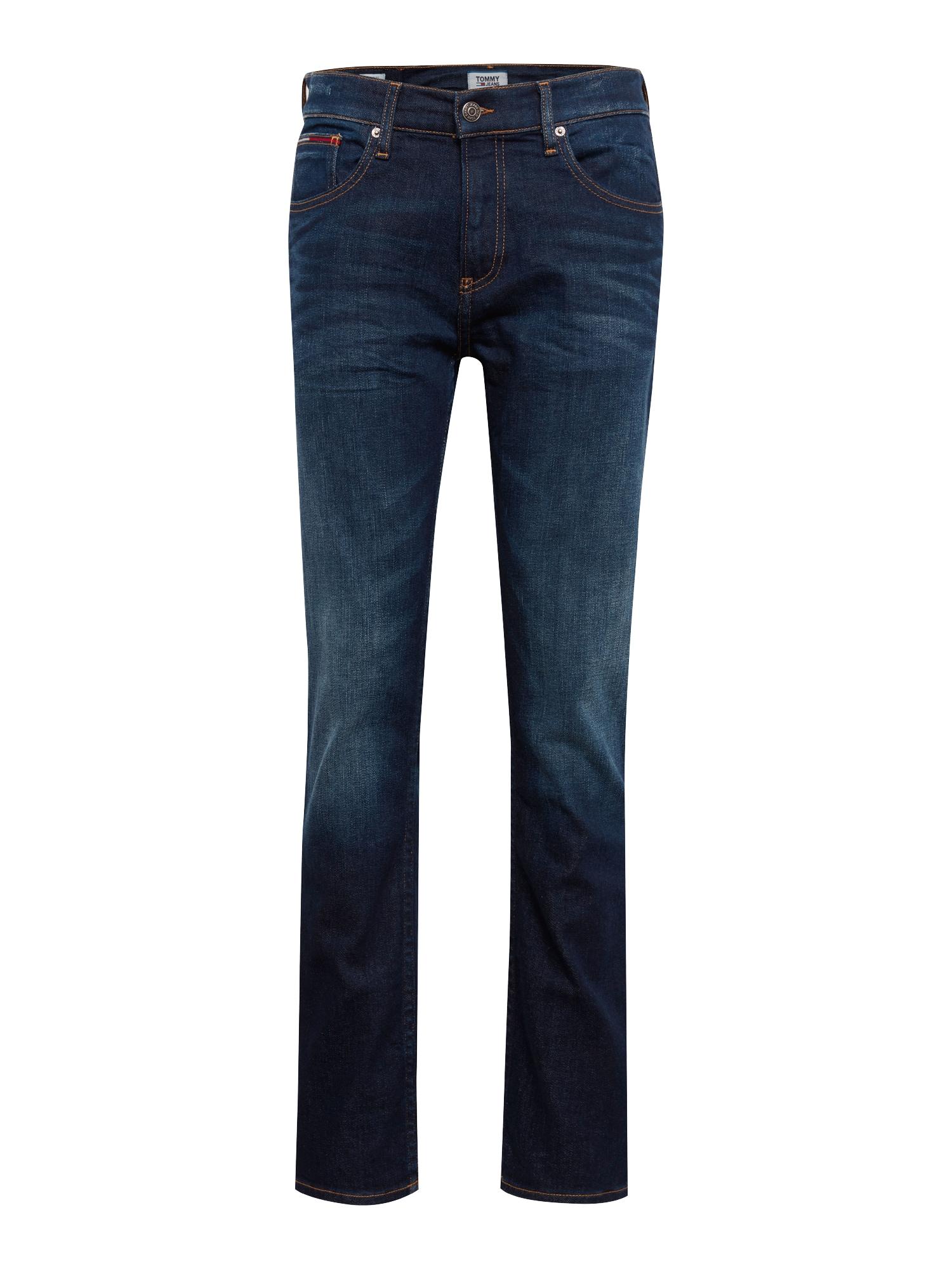 Tommy Jeans Džinsai 'Original Straight Ryan DACO' tamsiai (džinso) mėlyna