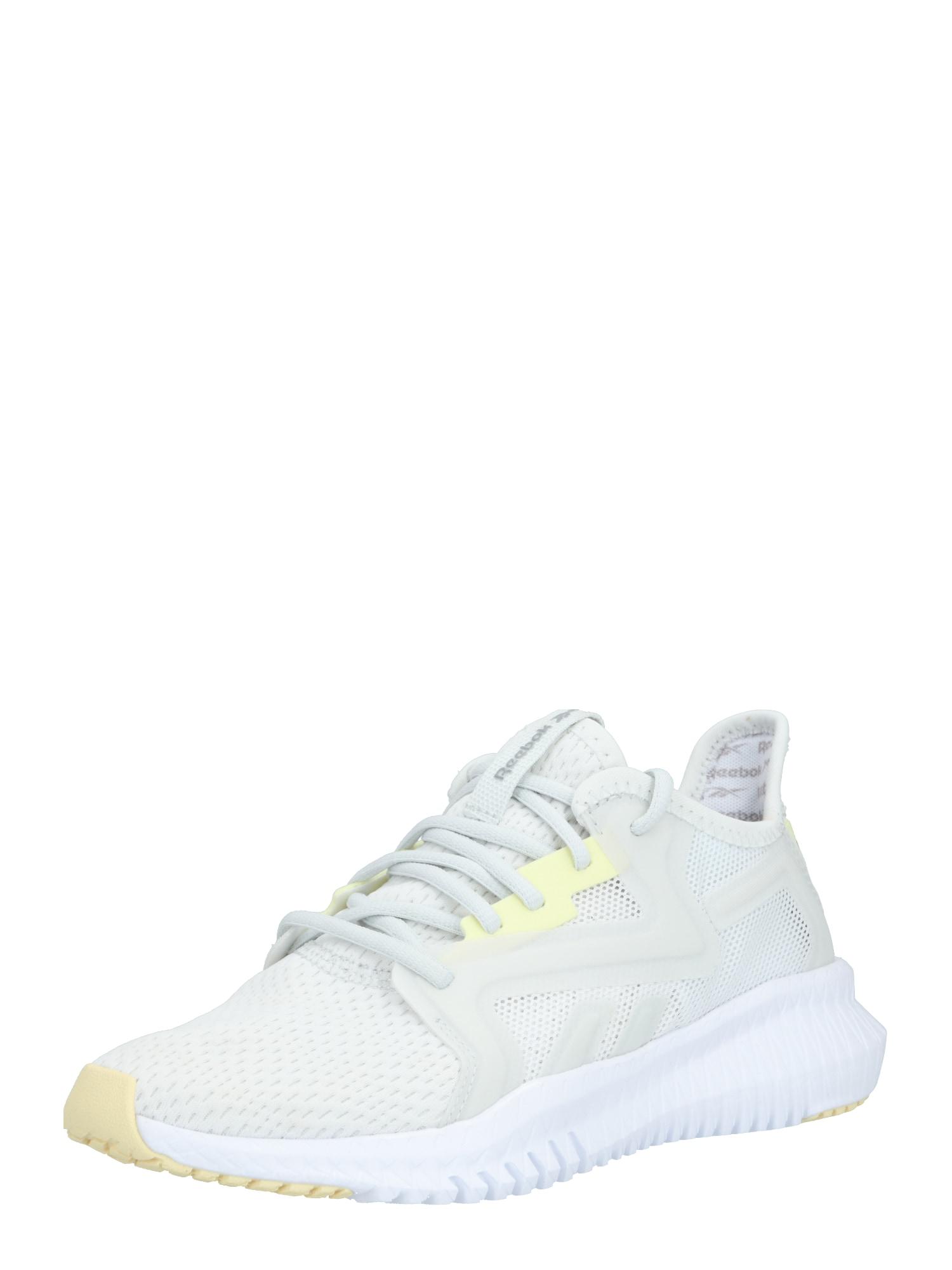 REEBOK Sportiniai batai 'REEBOK FLEXAGON 3.0' šviesiai pilka / žaliosios citrinos spalva