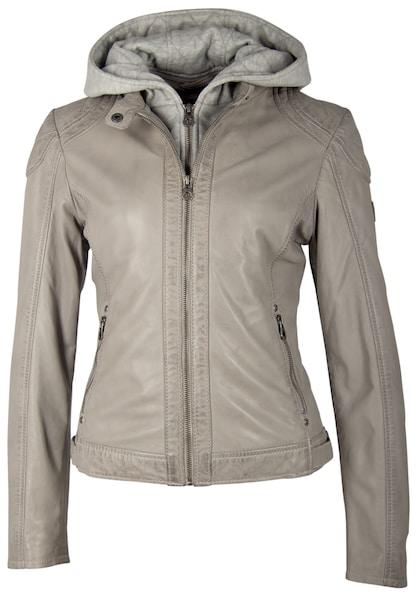 Jacken für Frauen - Gipsy Lederjacke 'ANGY W19 LAMAS' grau  - Onlineshop ABOUT YOU