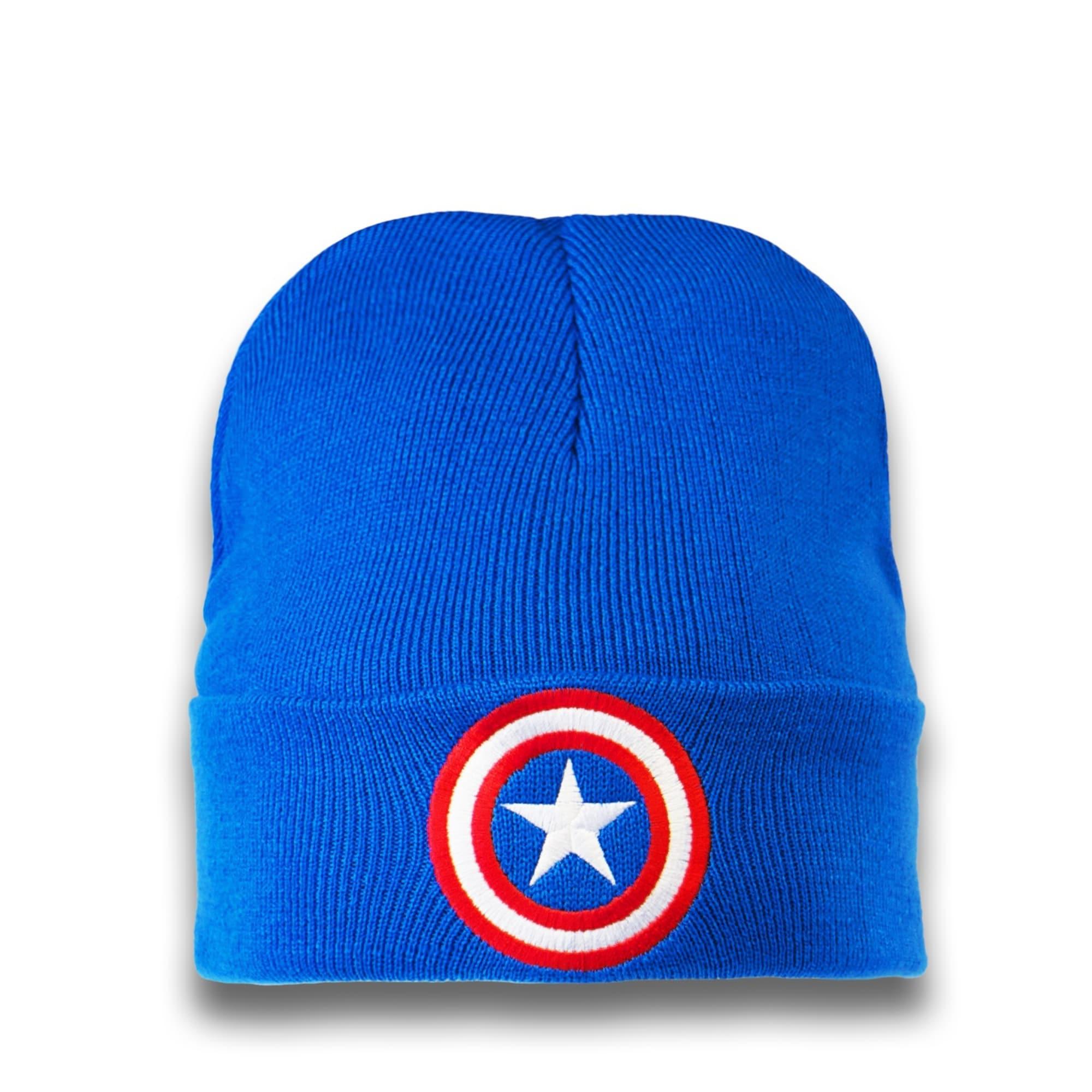 Strickmütze 'Captain America – Logo' | Accessoires > Mützen > Strickmützen | Logoshirt