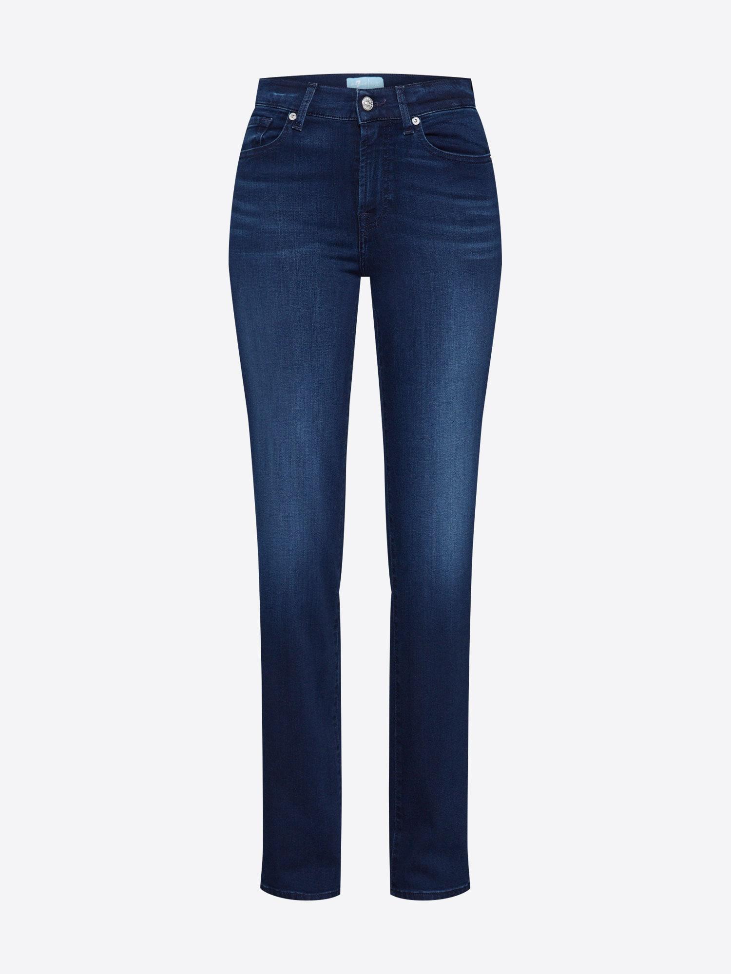 7 for all mankind Jeans 'THE STRAIGHT'  blå denim