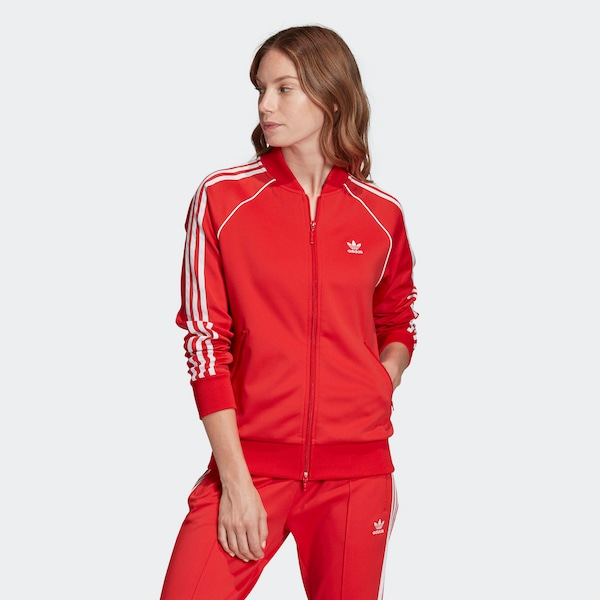 Jacken - Jacke › ADIDAS ORIGINALS › knallrot  - Onlineshop ABOUT YOU