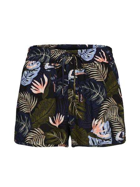 Hosen für Frauen - TOM TAILOR DENIM Shorts mischfarben schwarz  - Onlineshop ABOUT YOU