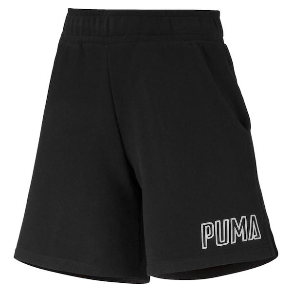 Hosen für Frauen - PUMA Sweatshorts 'Athletics' schwarz weiß  - Onlineshop ABOUT YOU