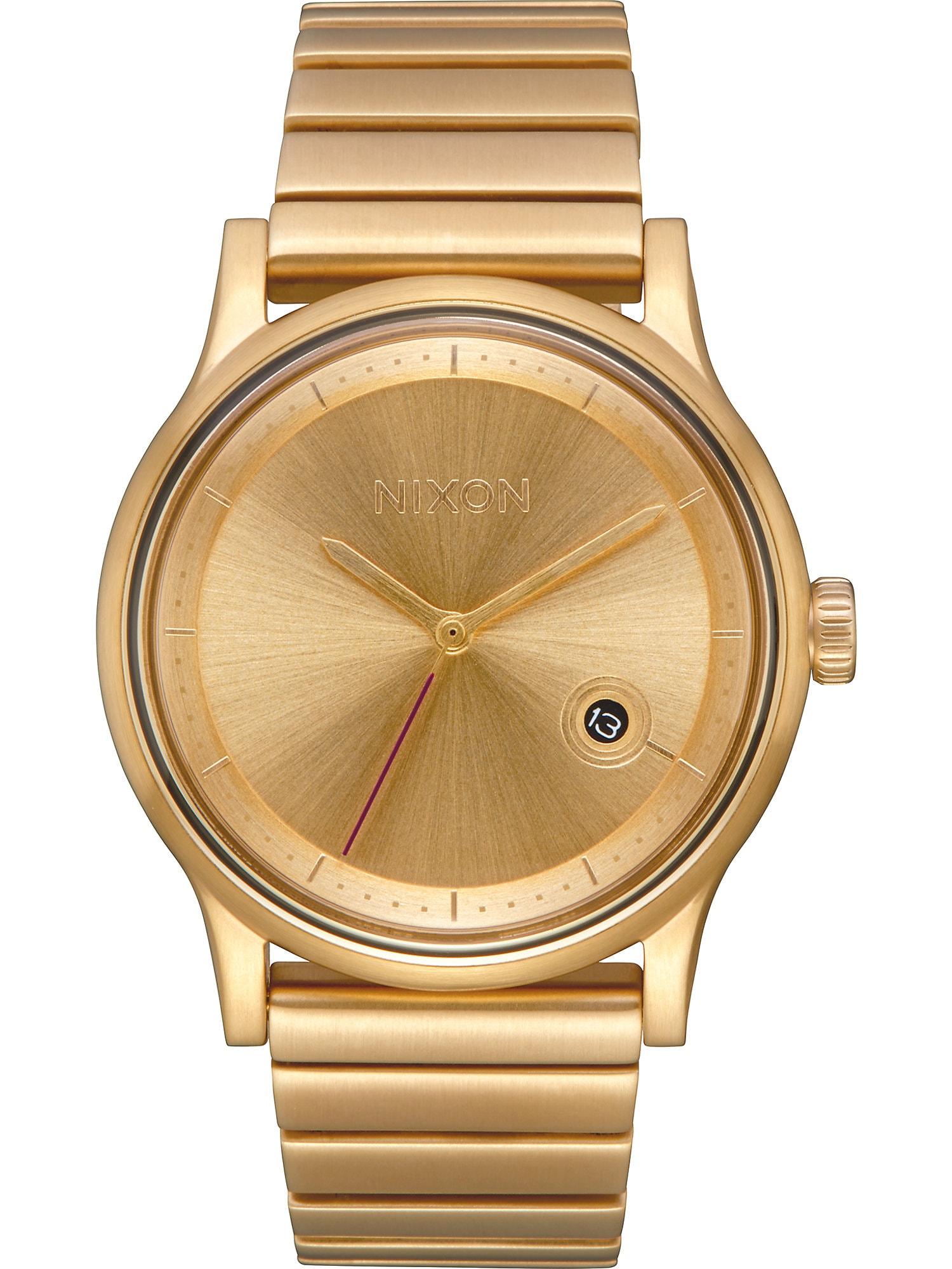 Analogové hodinky Station A1160 502-00 zlatá Nixon