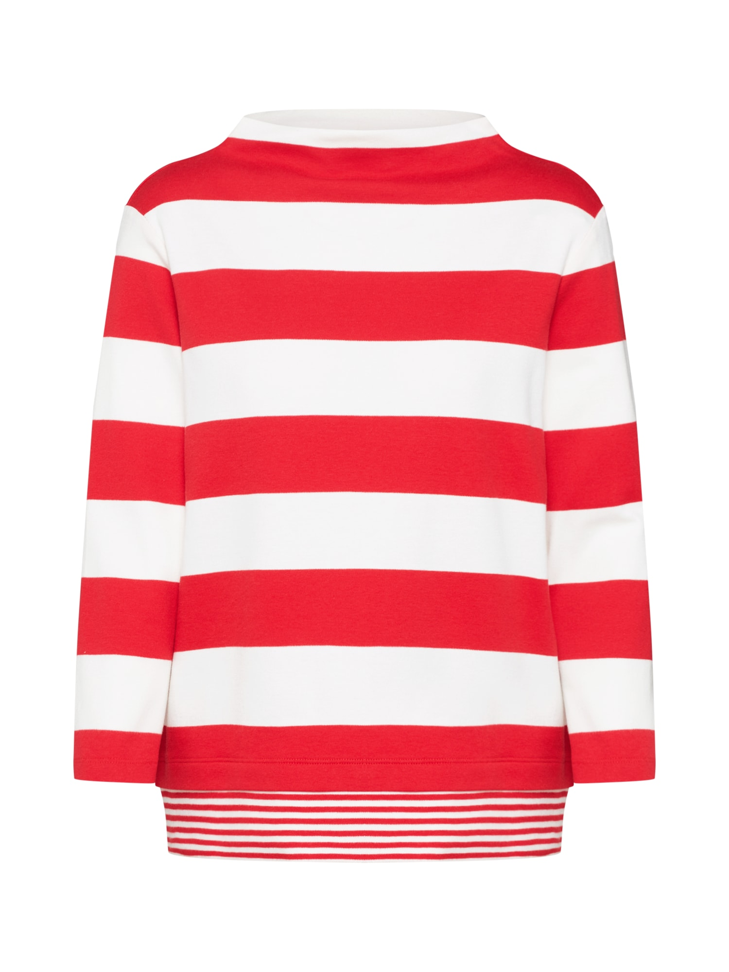 ESPRIT Tričko  červená / bílá
