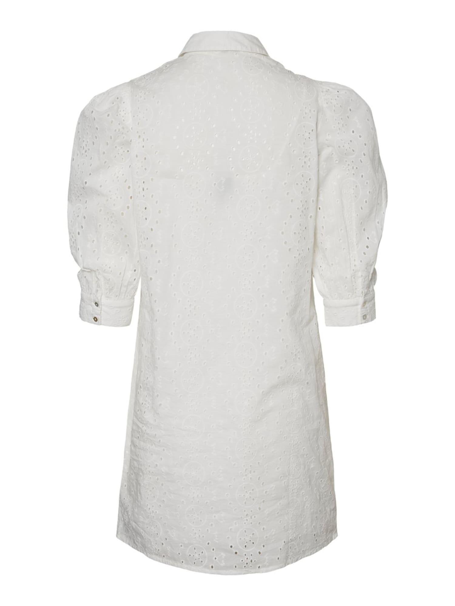 vero moda - Stickerei Blusenkleid