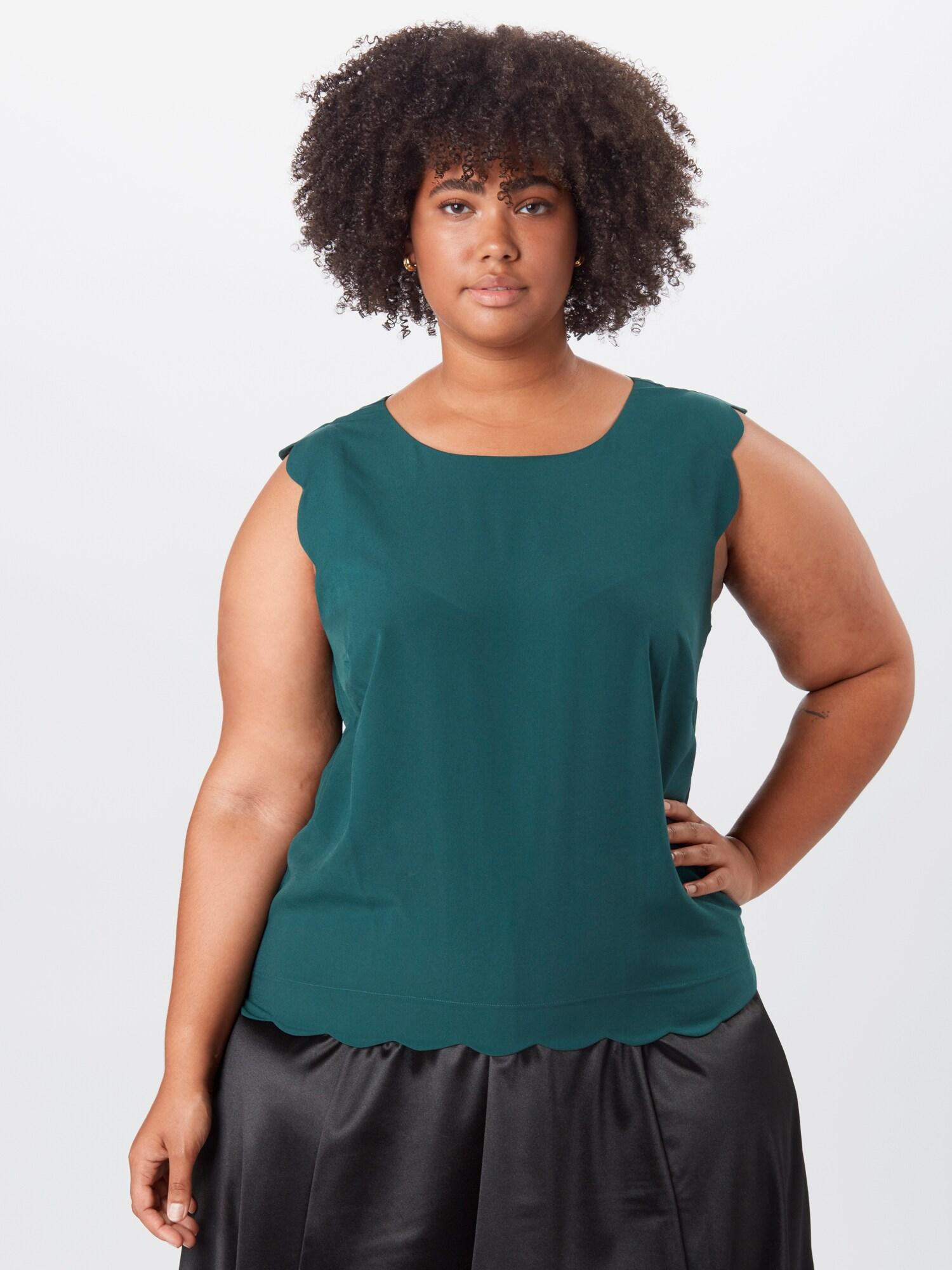 ABOUT YOU Curvy Topp 'Arvena '  smaragd