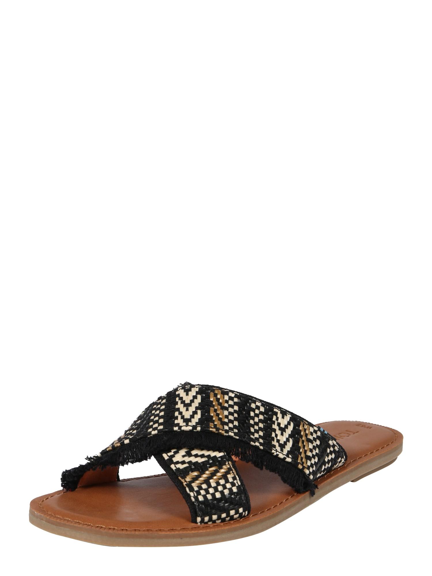 Sandály VIV béžová černá TOMS