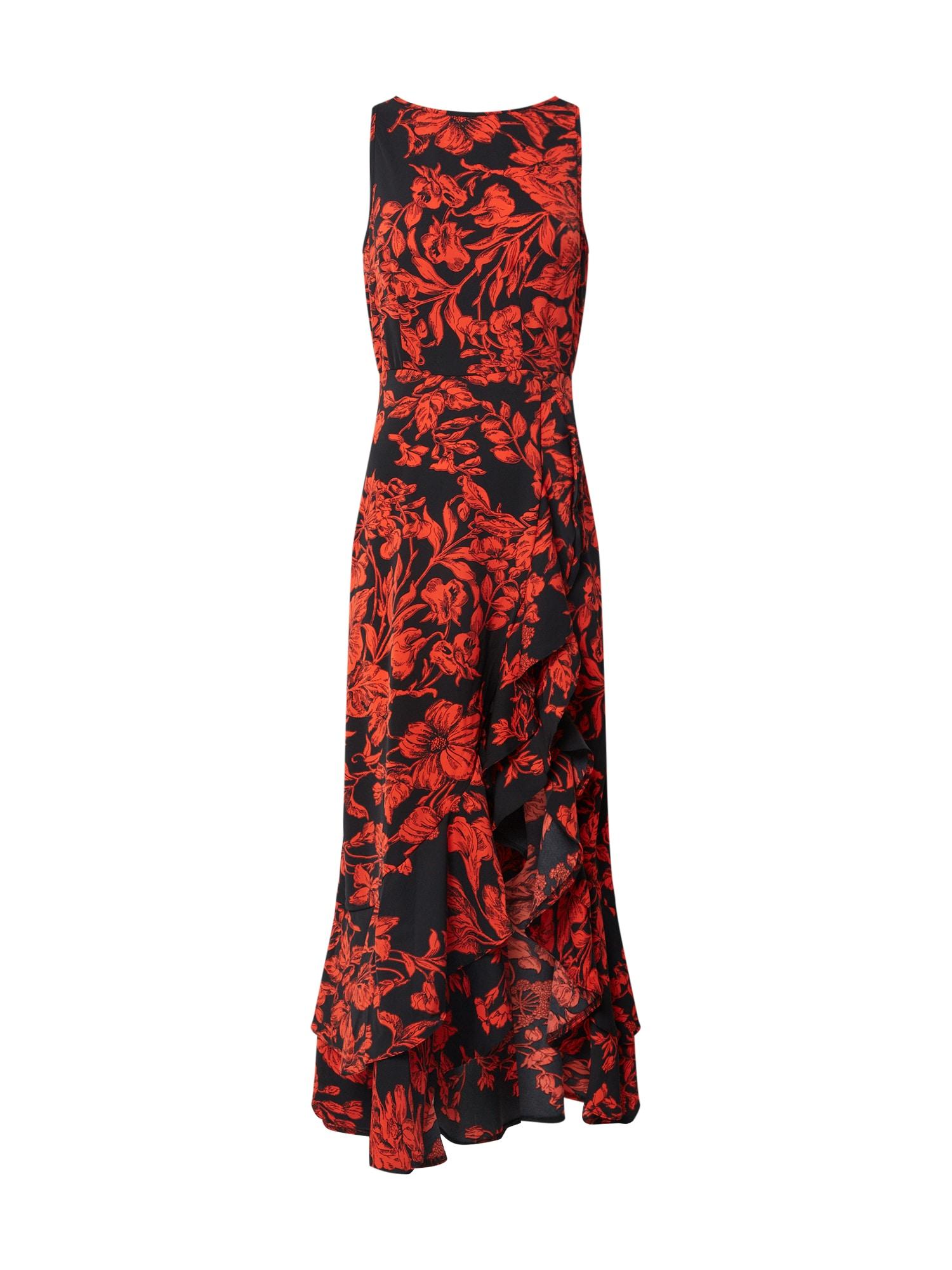 AX Paris Suknelė raudona / juoda