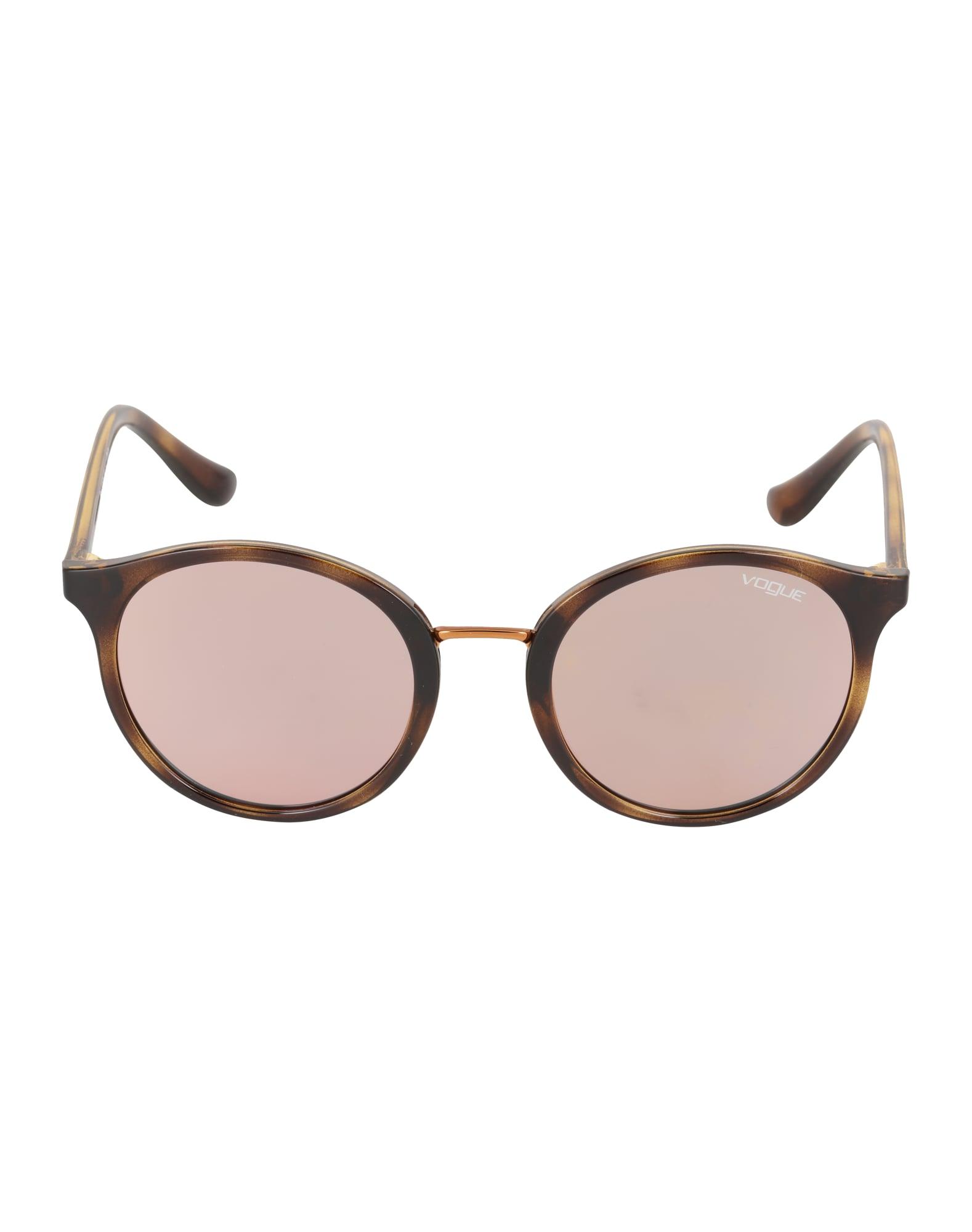 VOGUE Eyewear Slnečné okuliare  hnedé