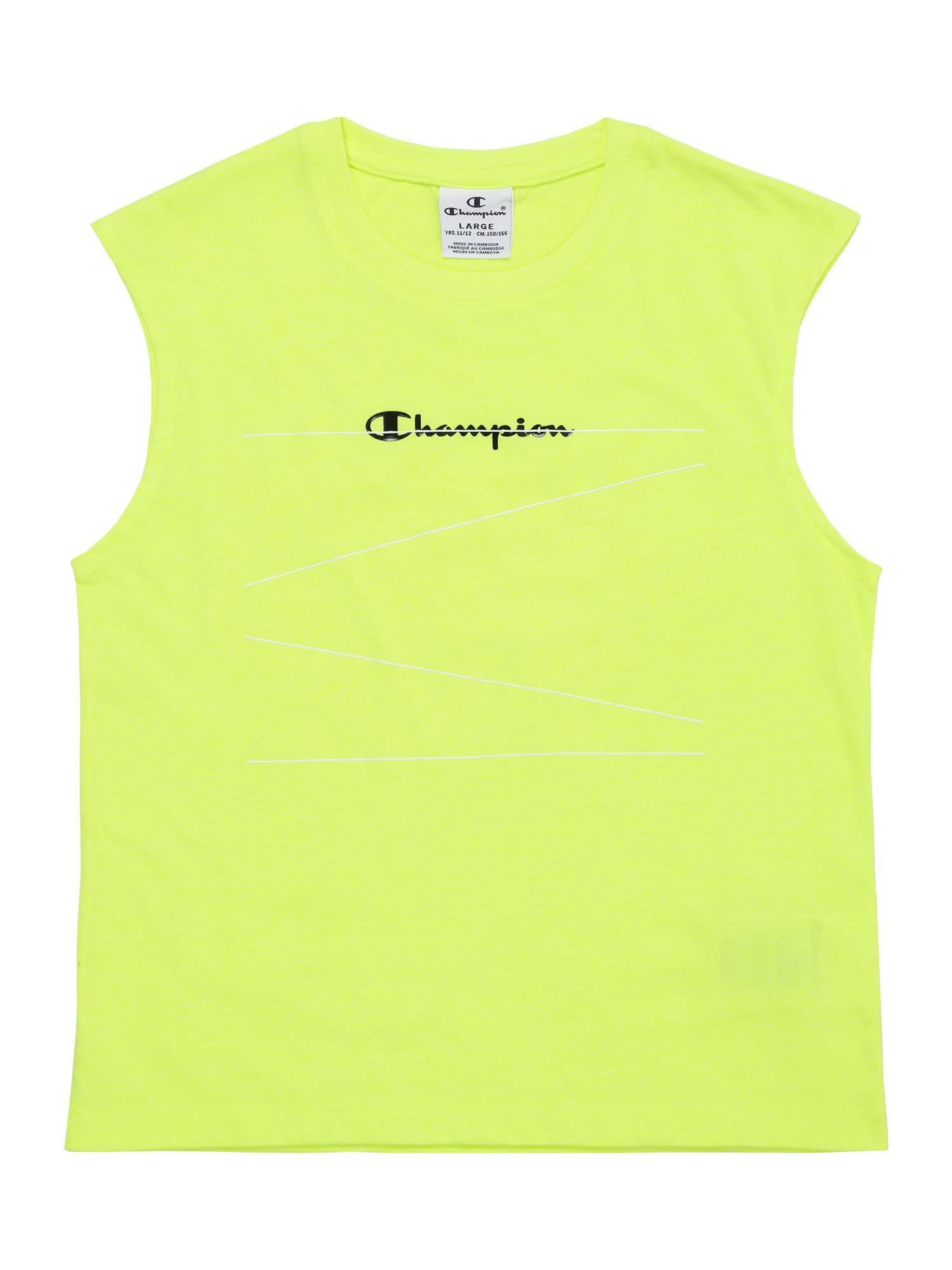Champion Authentic Athletic Apparel Palaidinė be rankovių neoninė geltona