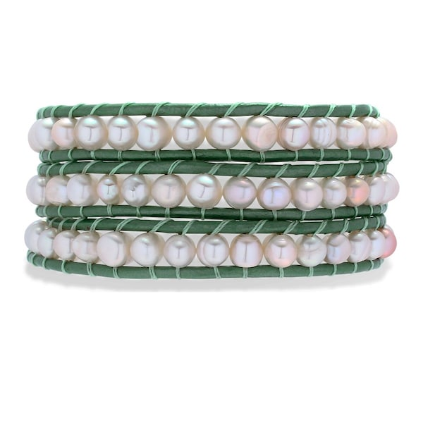 Armbaender - Armband › Rafaela Donata › grün perlweiß  - Onlineshop ABOUT YOU