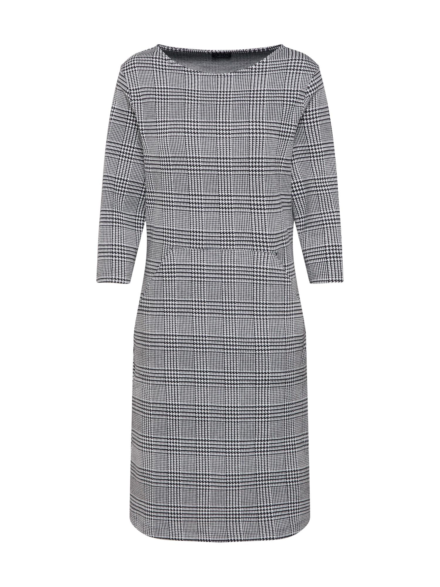 Šaty Dress šedá černá Re.draft