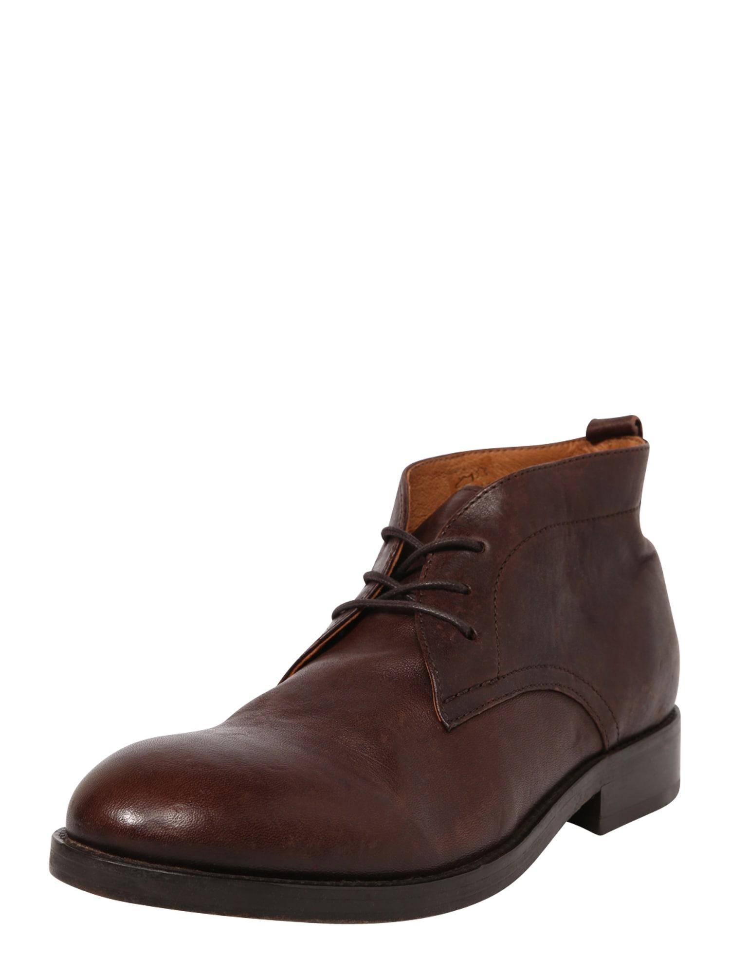 """Hudson London """"Chukka"""" batai kaštoninė spalva"""