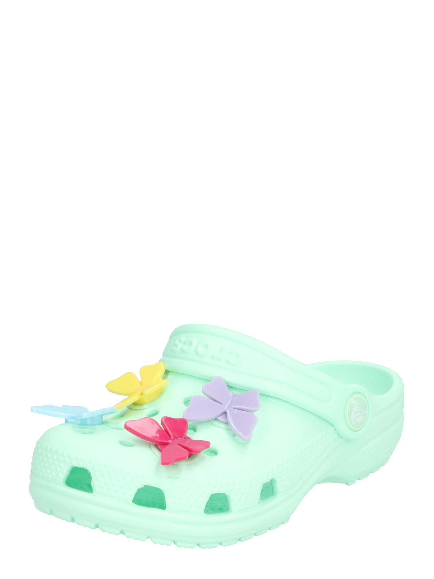 Crocs Atviri batai pastelinė žalia