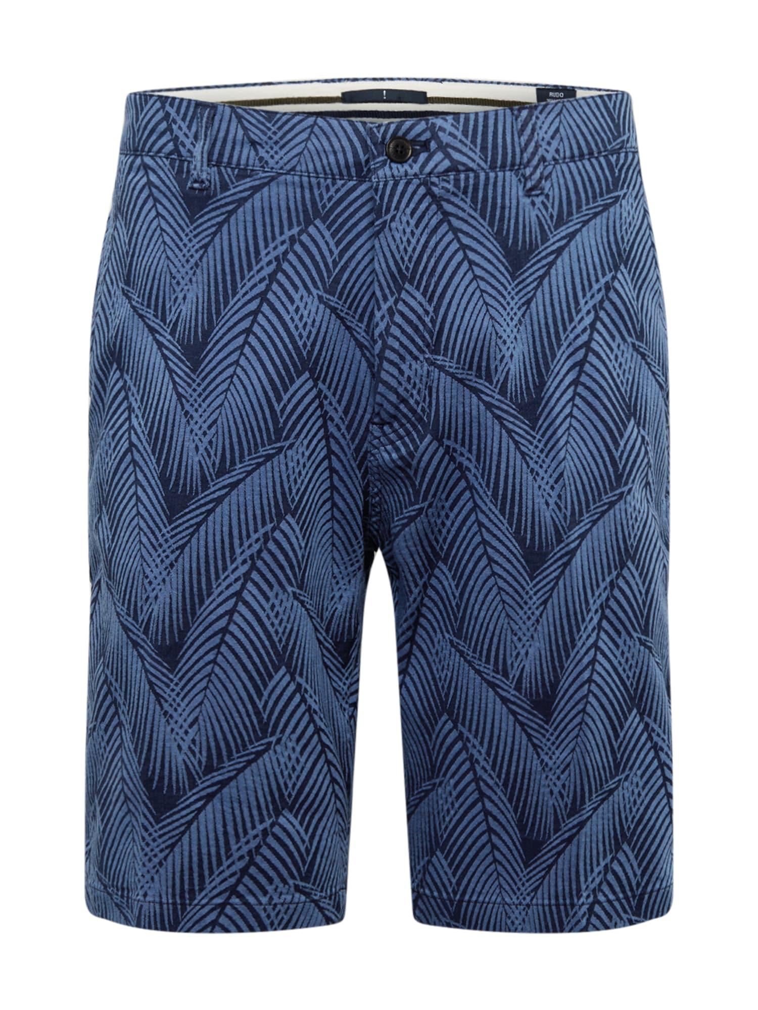 JOOP! Jeans Kelnės '66Rudo' tamsiai mėlyna
