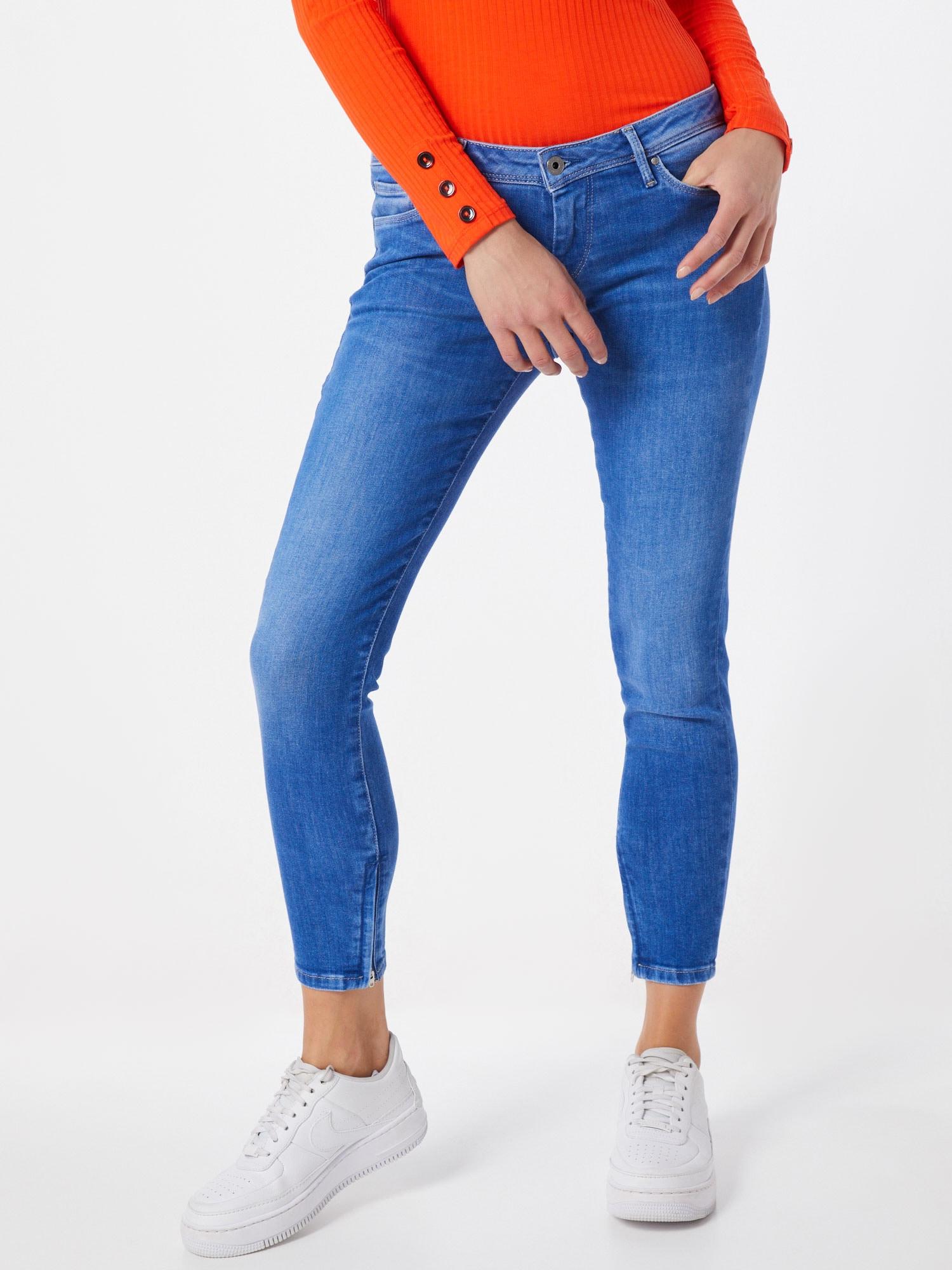 Pepe Jeans Jeans 'Cher'  blå denim