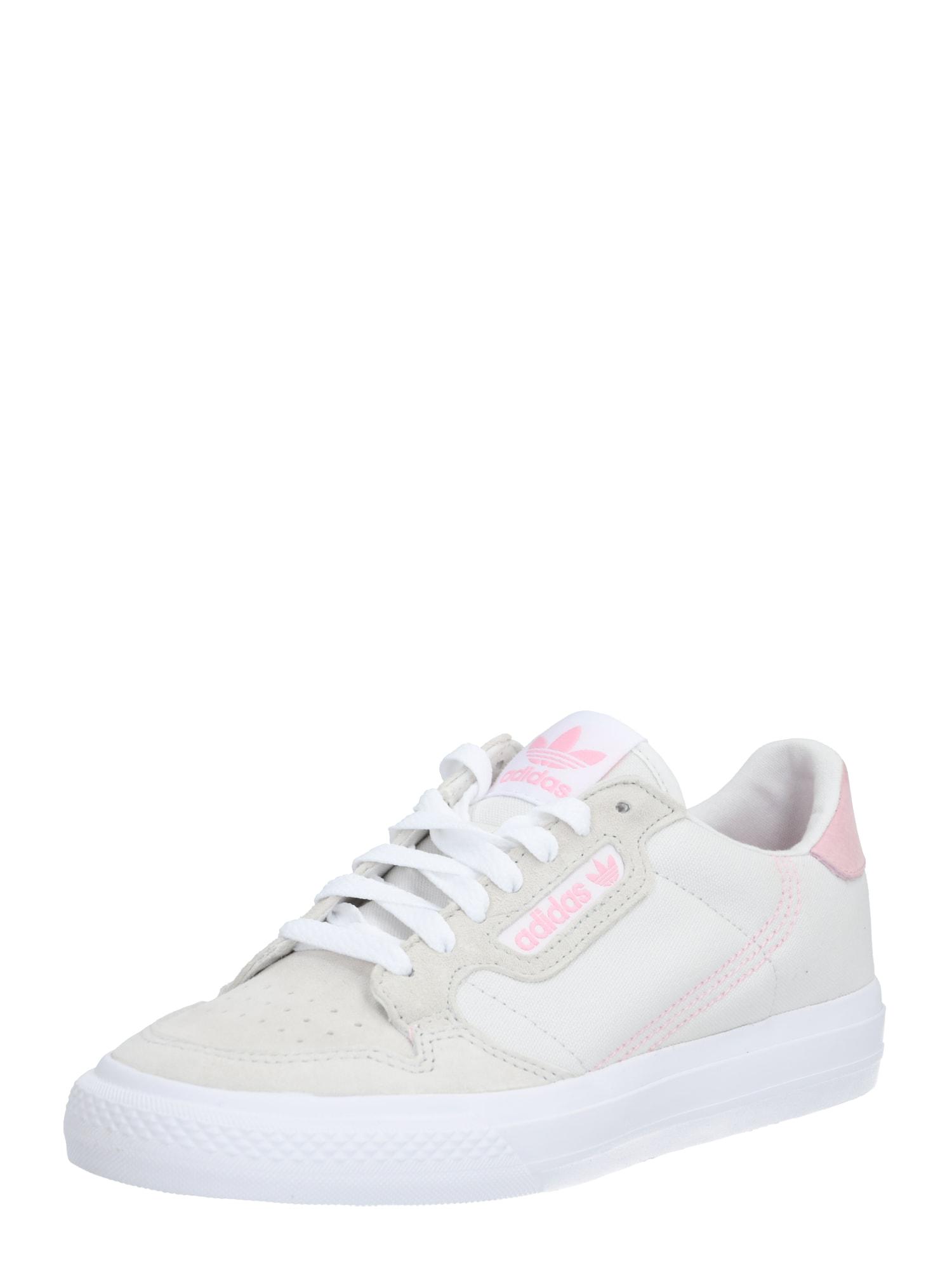 ADIDAS ORIGINALS Nízke tenisky 'Continental'  biela / ružová / sivá