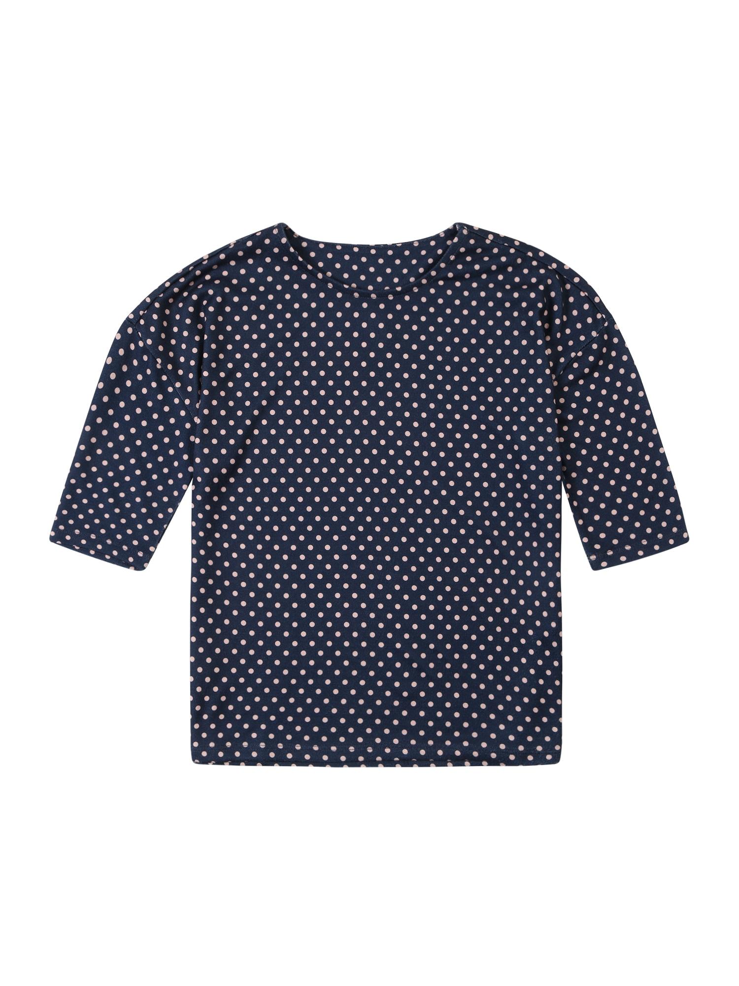 Tričko KIKI ELCOS tmavě modrá bílá KIDS ONLY