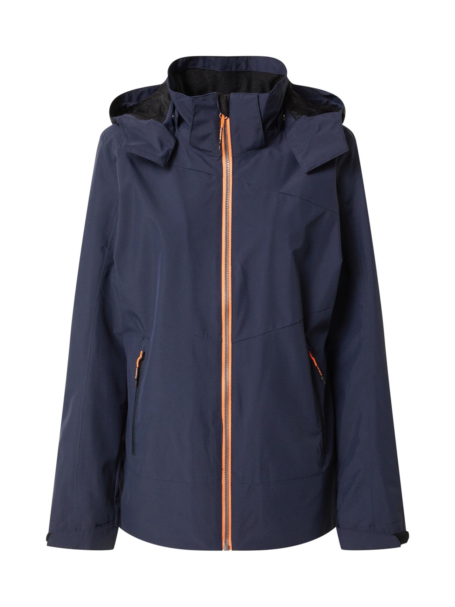 ICEPEAK Outdoorová bunda 'Calera'  tmavě modrá