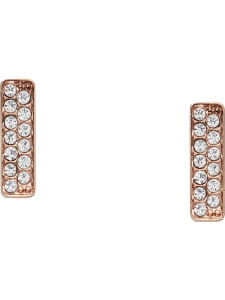 Ohrringe für Frauen - FOSSIL Ohrstecker 'JF03028791' rosegold  - Onlineshop ABOUT YOU