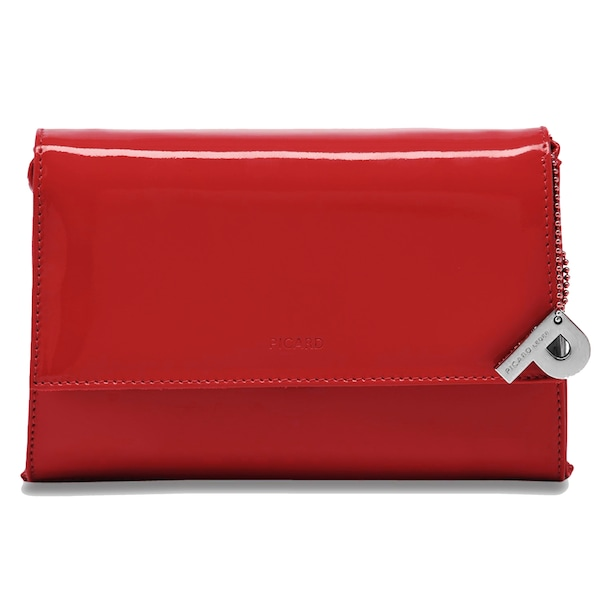 Clutches für Frauen - Picard Auguri Damentasche Leder 19 cm rot  - Onlineshop ABOUT YOU