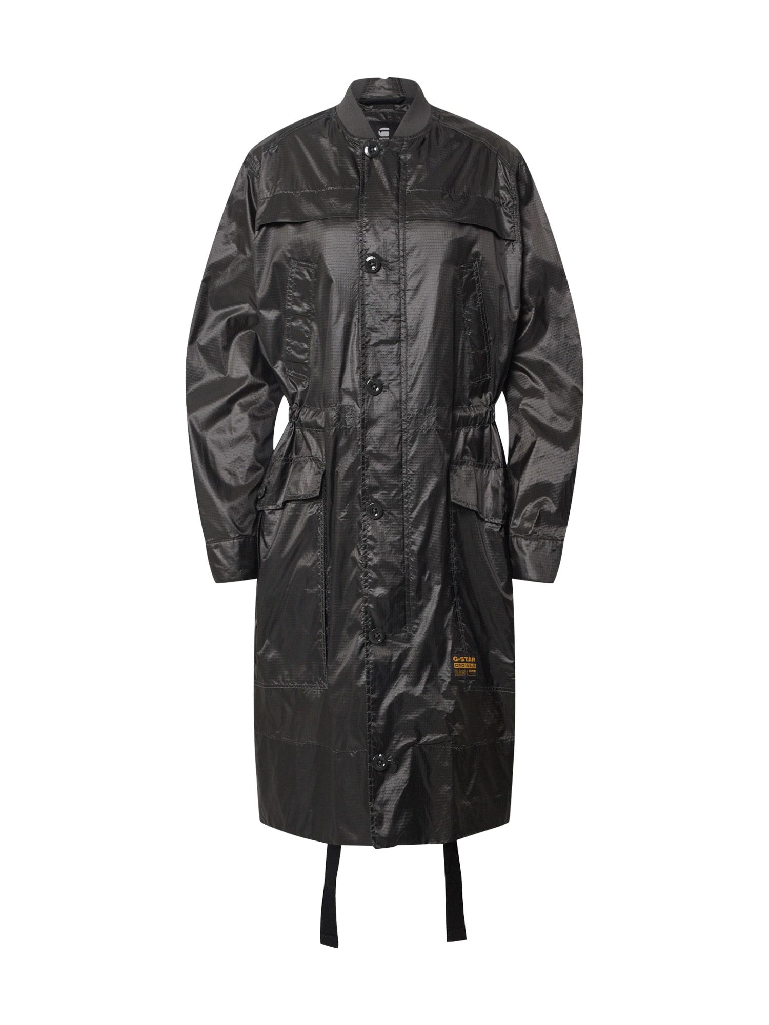 G-Star RAW Prechodný kabát  antracitová