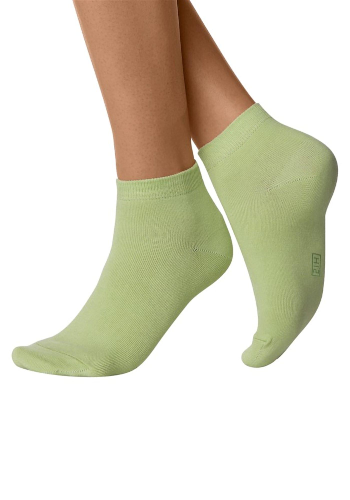 H.I.S Kojinės mėlyna / žalia / purpurinė