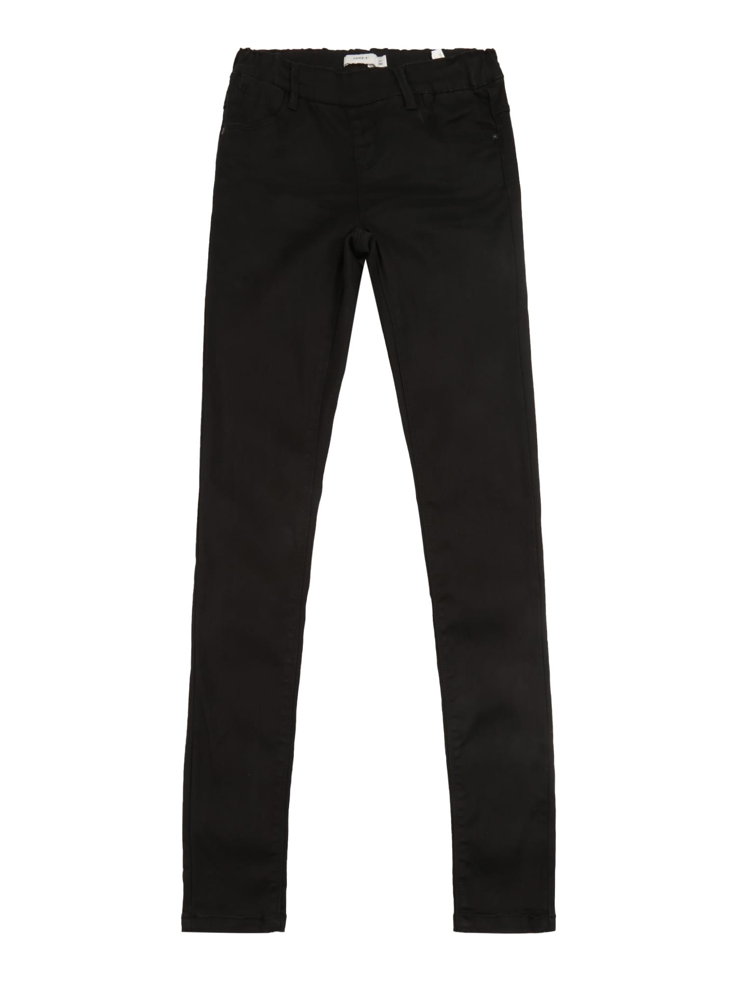 NAME IT Tamprės 'NKFPOLLY DNMTORA' juodo džinso spalva